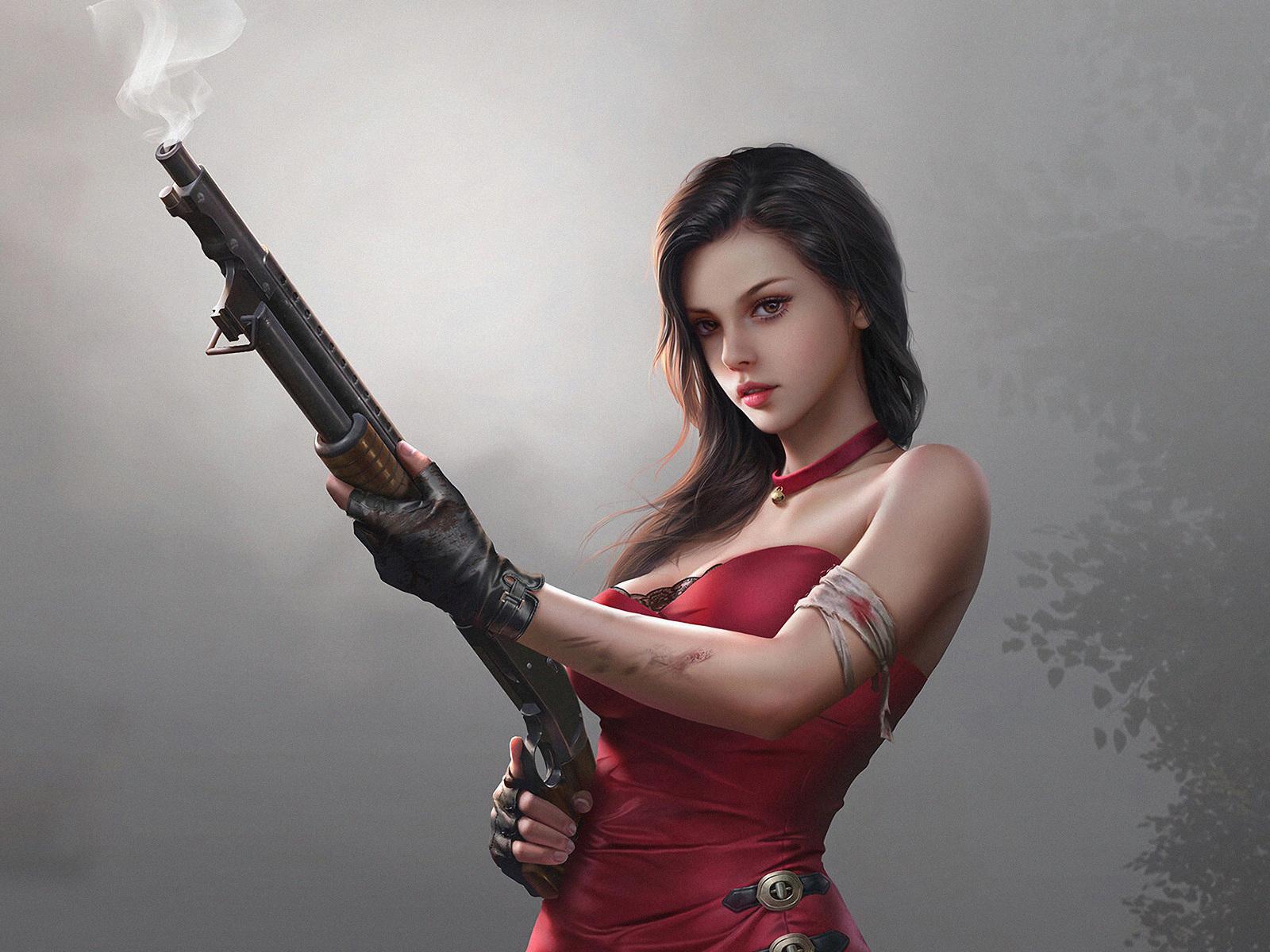 fantasy-girl-in-red-dress-with-gun-4k-lg.jpg