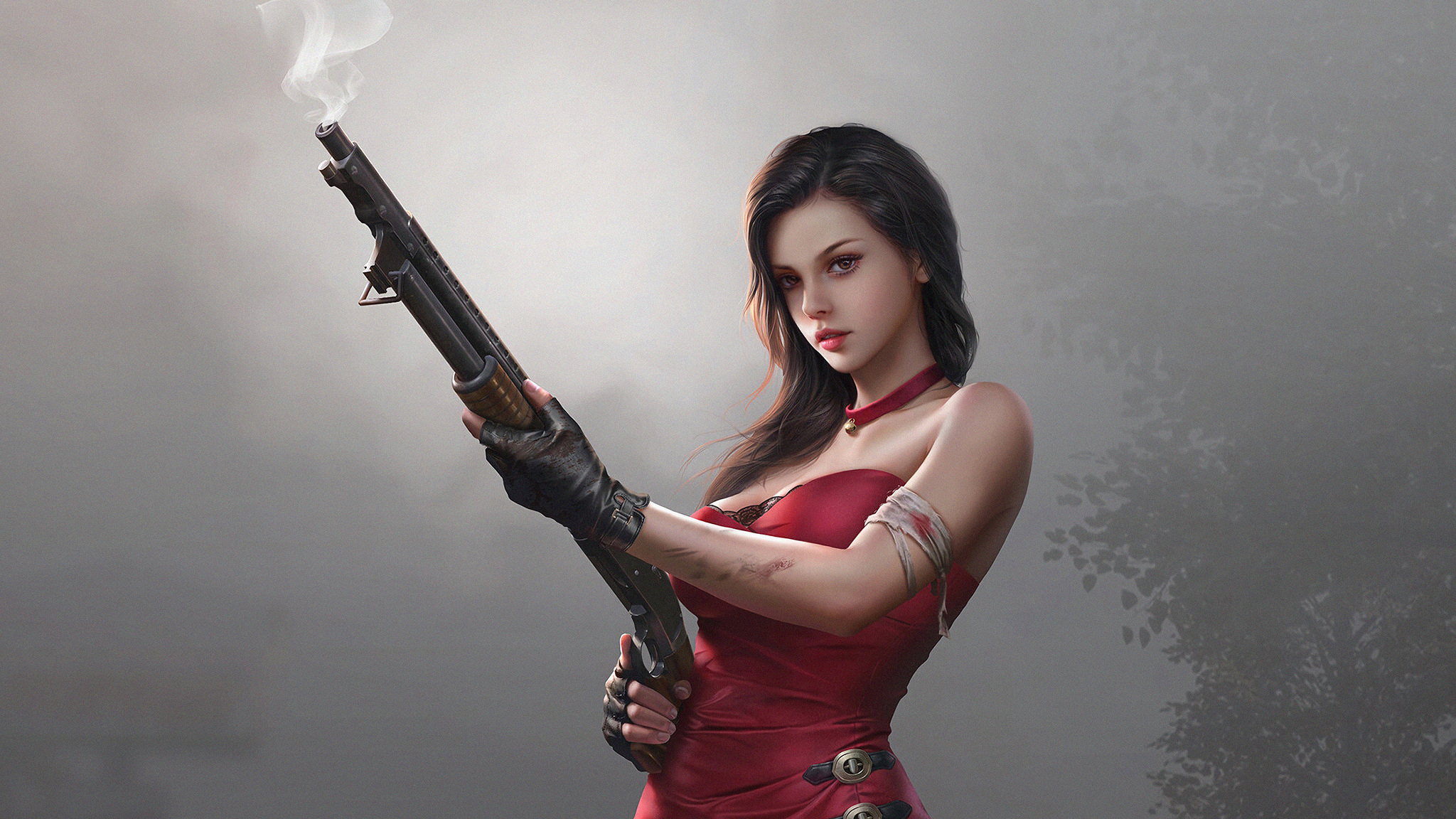 fantasy-girl-in-red-dress-with-gun-4k-lg.jpg