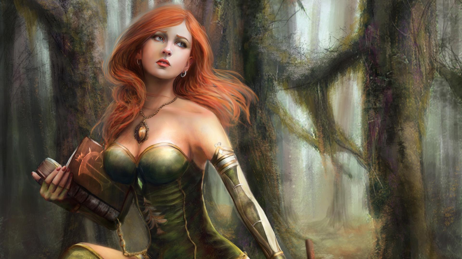 Warrior Woman Art - ID: 111323 - Art Abyss