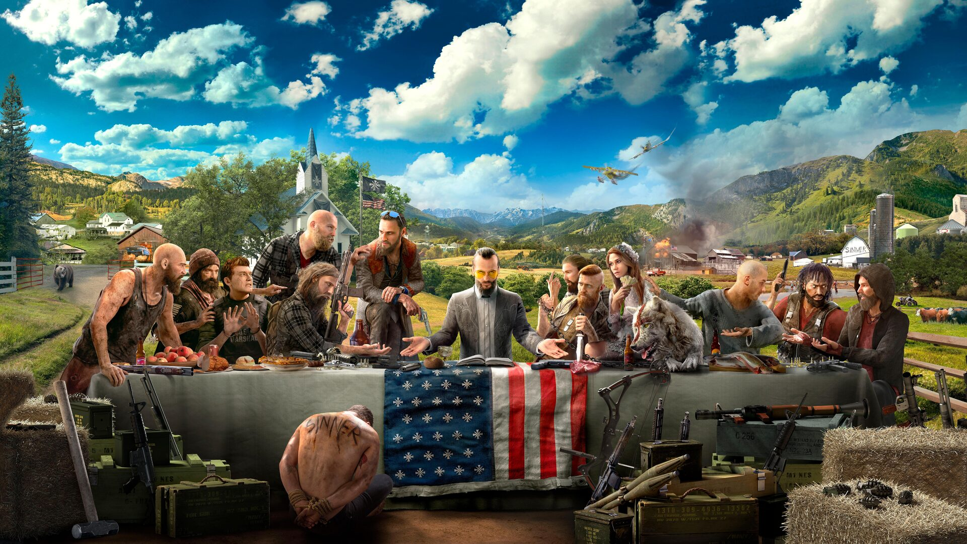 Far Cry 5 Wallpaper 4k: 1920x1080 Far Cry 5 8k Laptop Full HD 1080P HD 4k