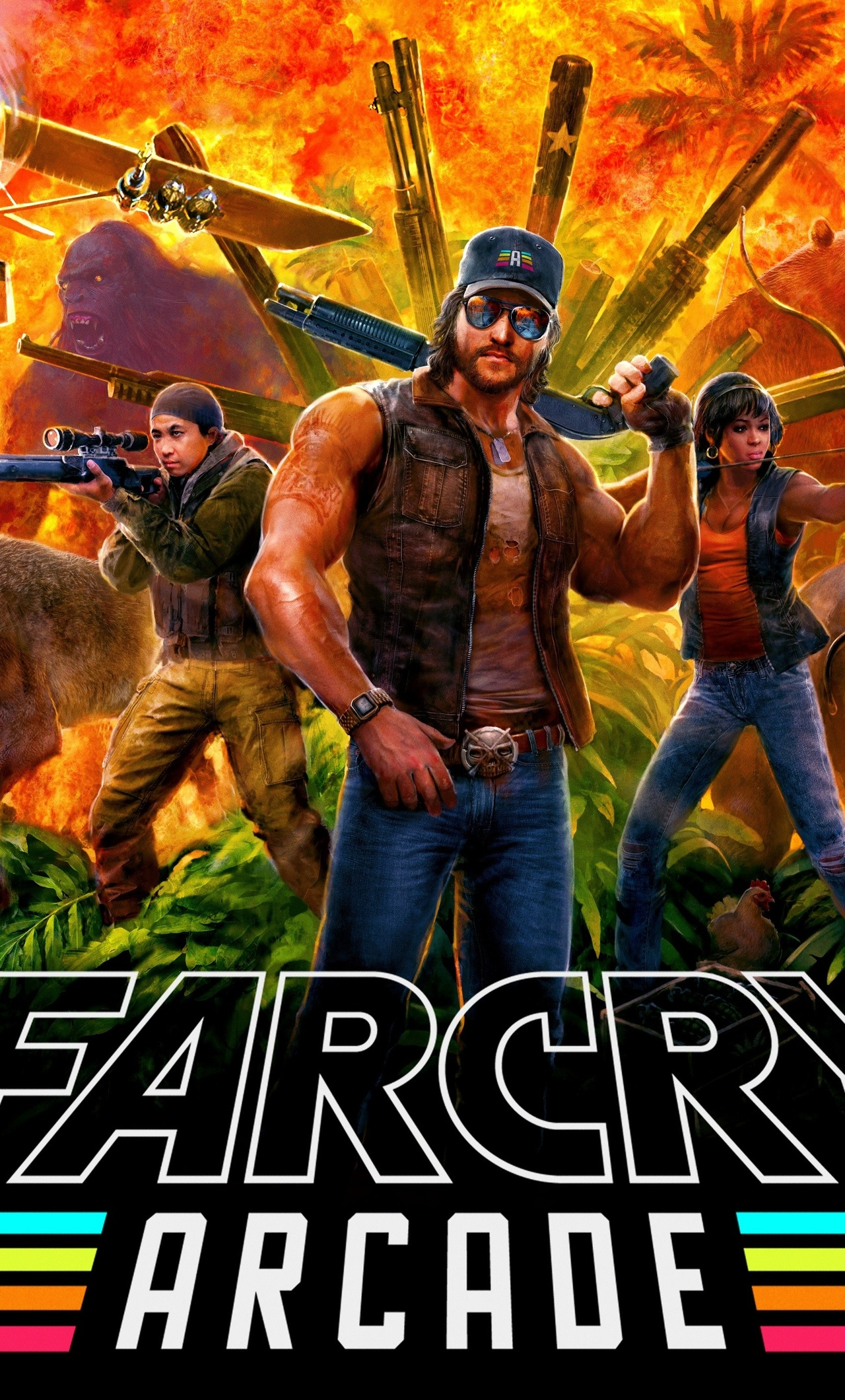 1280x2120 Far Cry 5 Arcade 2018 Iphone 6 Hd 4k Wallpapers Images Backgrounds Photos And Pictures