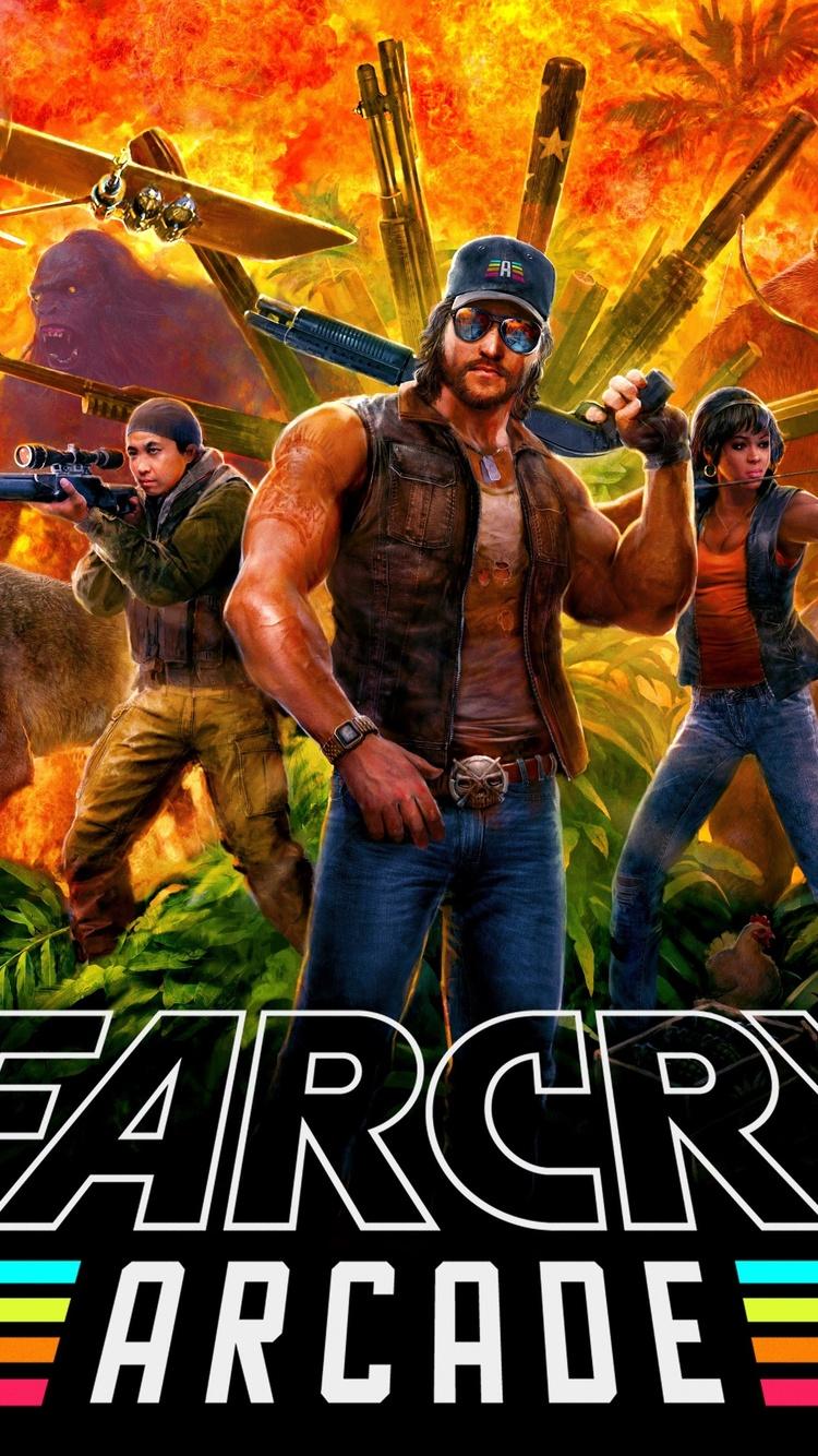 750x1334 Far Cry 5 Arcade 2018 Iphone 6 Iphone 6s Iphone 7 Hd 4k
