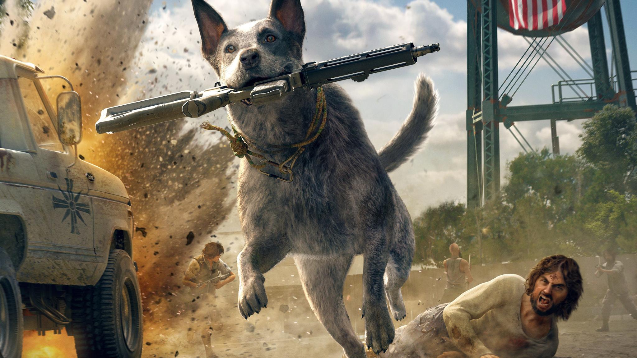 2048x1152 Far Cry 5 Australian Cattle Dog 5k 2048x1152 ...