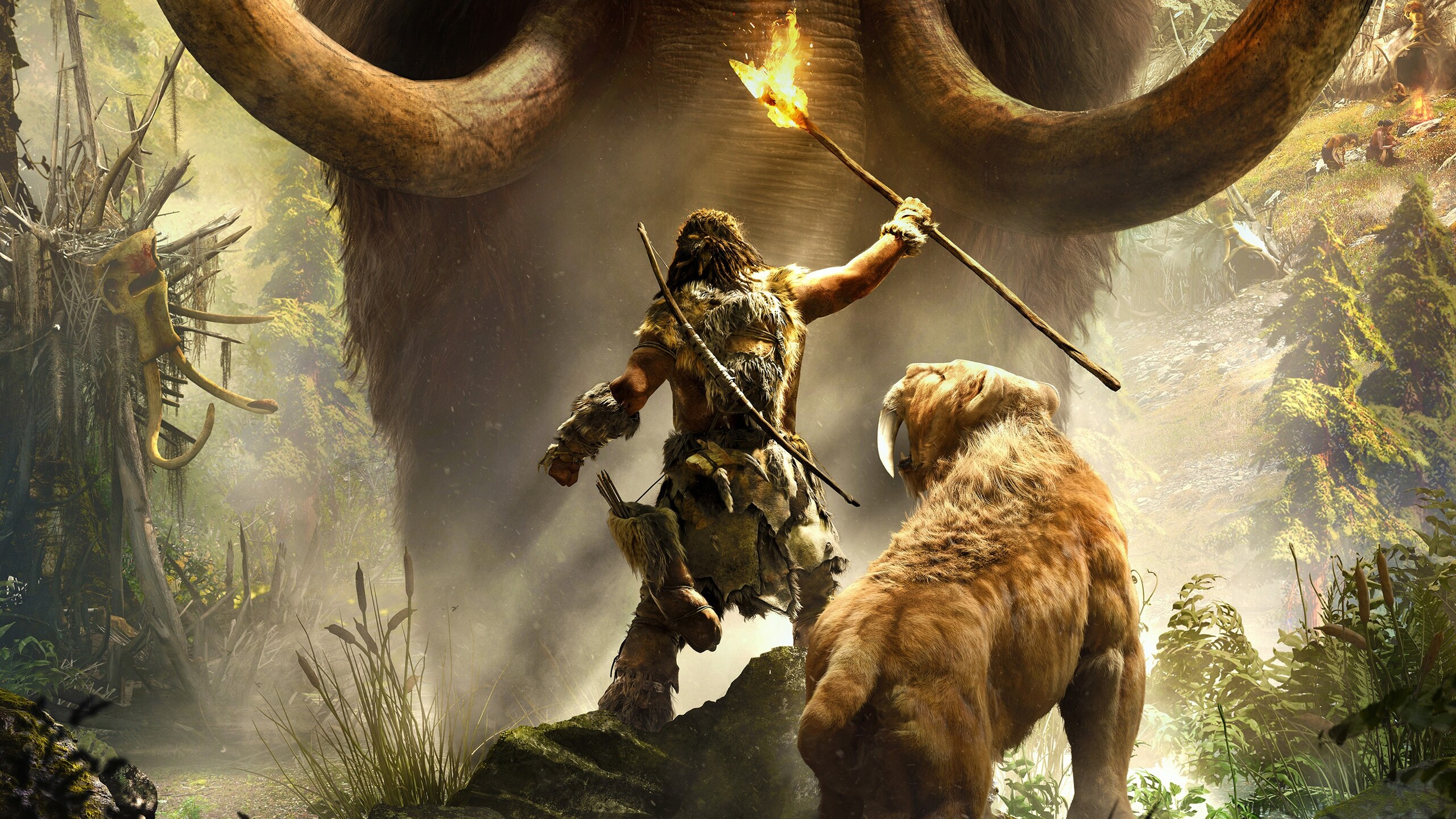 Far Cry Primal Wallpaper: 2560x1440 Far Cry Primal 1440P Resolution HD 4k Wallpapers