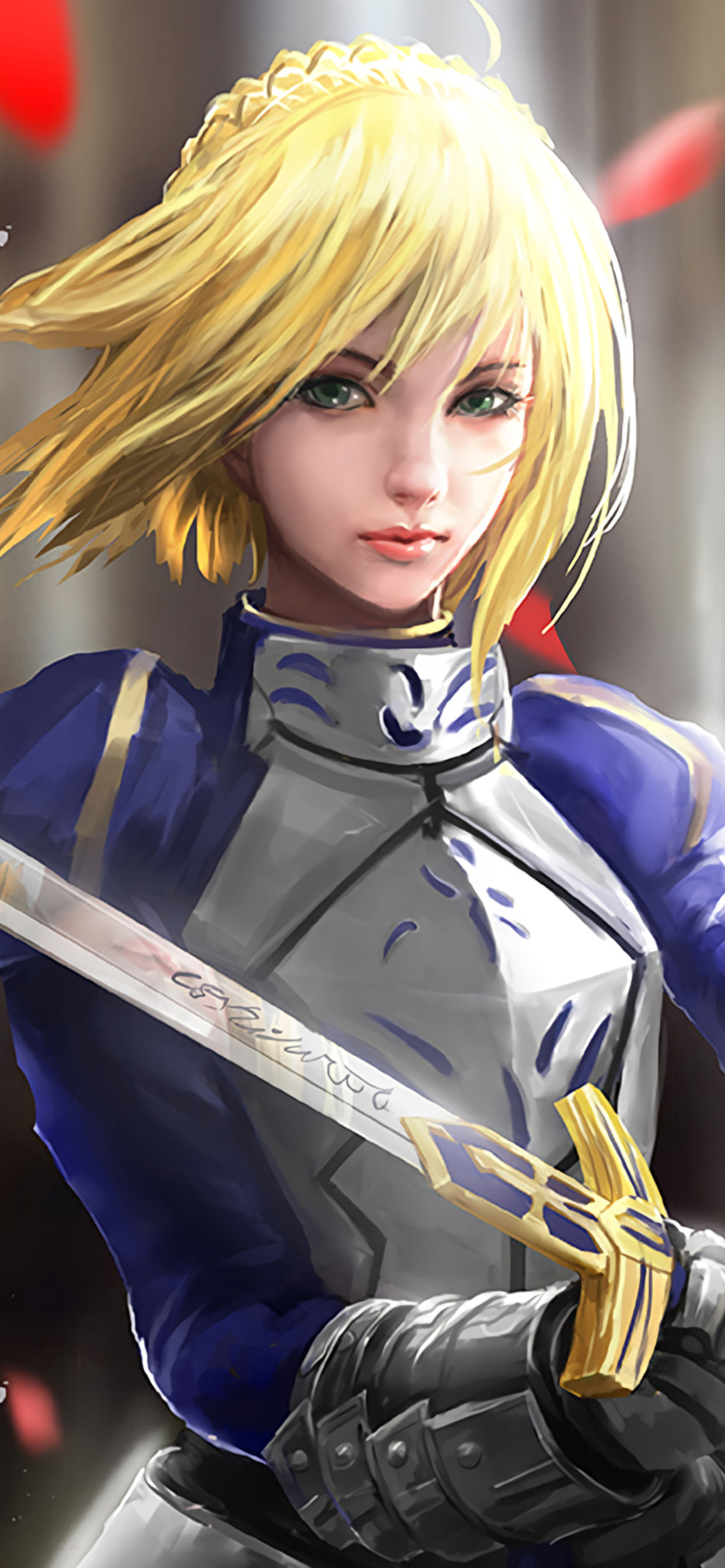 1242x2688 Fate Stay Night Iphone Xs Max Hd 4k Wallpapers Images Backgrounds Photos And Pictures