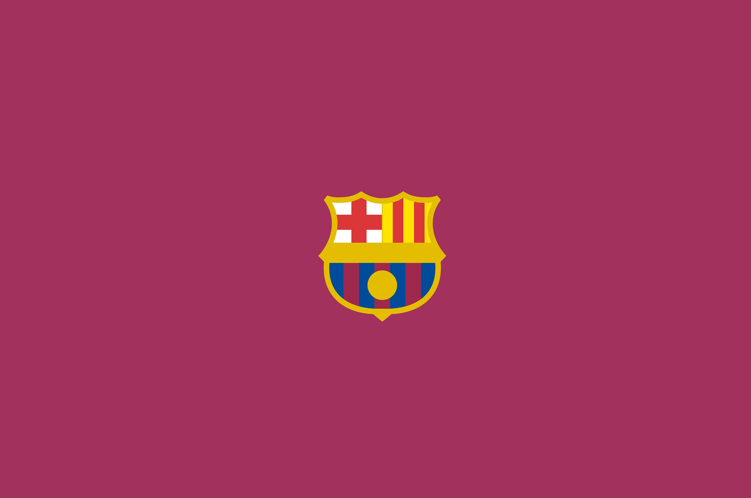 2560x1700 Fc Barcelona Logo Minimalism Chromebook Pixel Hd 4k Wallpapers Images Backgrounds Photos And Pictures
