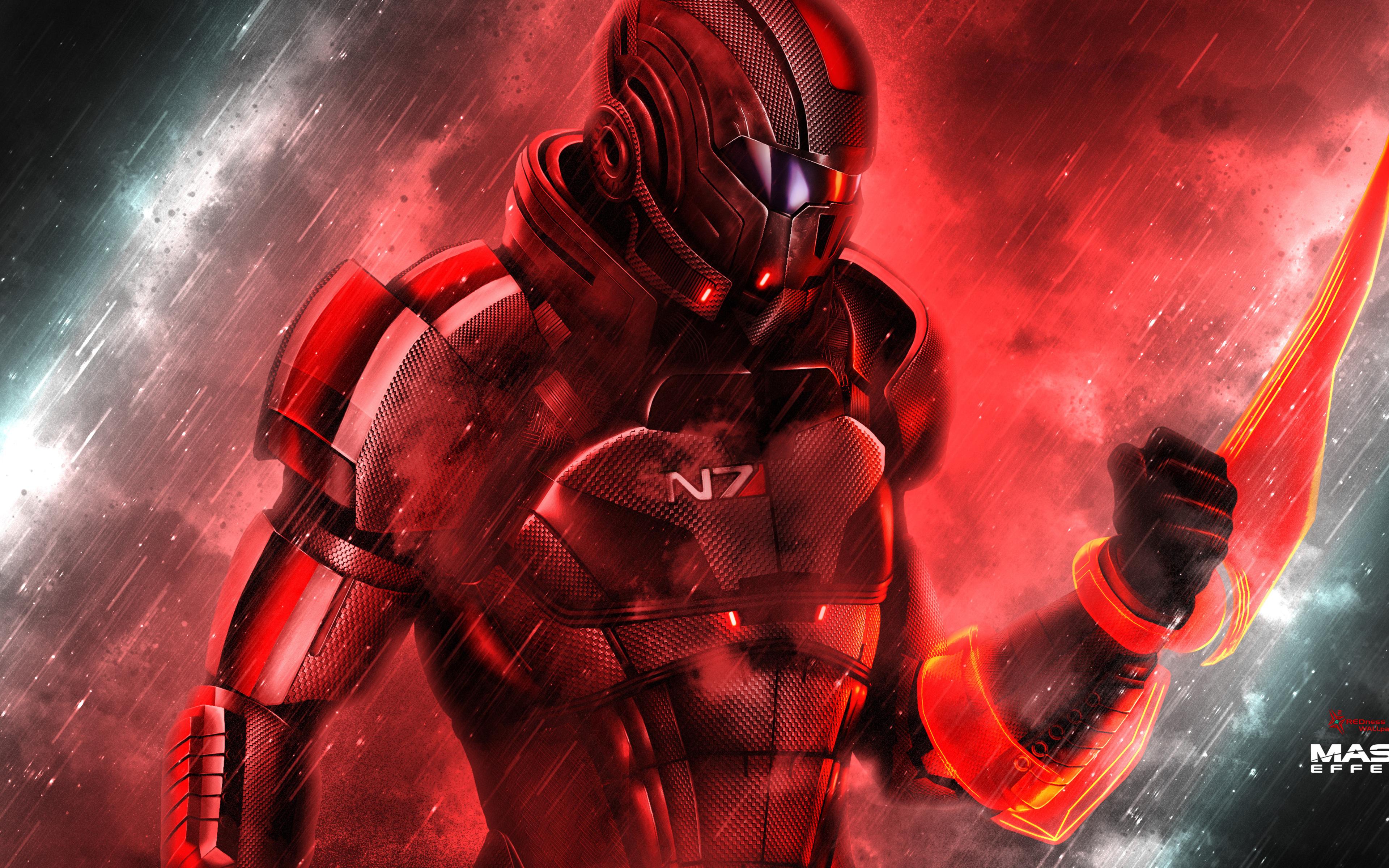 3840x2400 Femshep Mass Effect 4k 4k Hd 4k Wallpapers Images