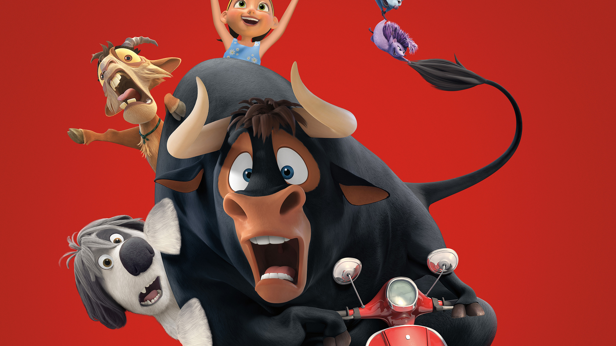 2560x1440 Ferdinand Best Animated Movie Of 2017 4k 1440p