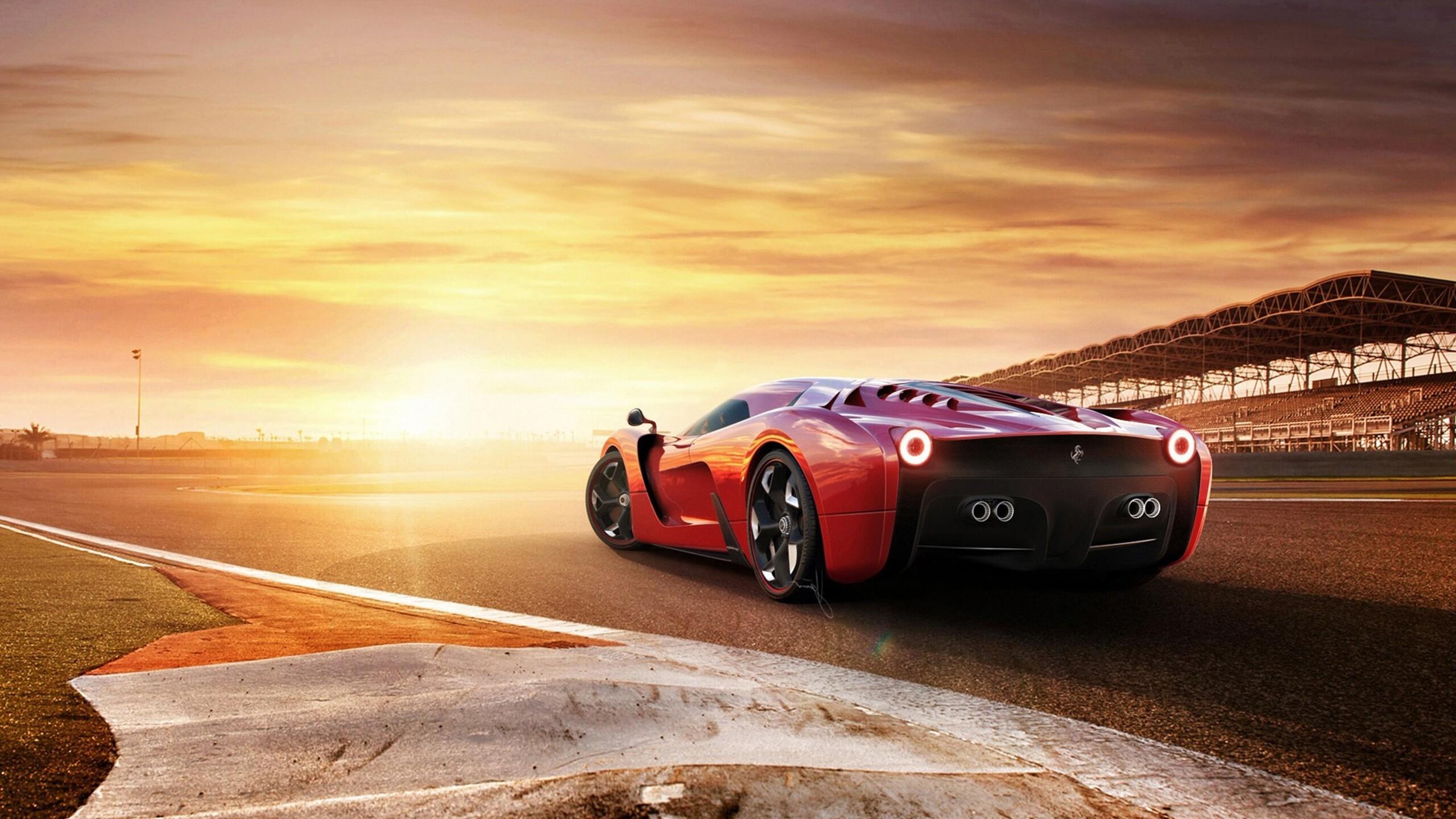 2560x1440 Ferrari 458 Concept Car 1440P Resolution HD 4k Wallpapers, Images, Backgrounds, Photos