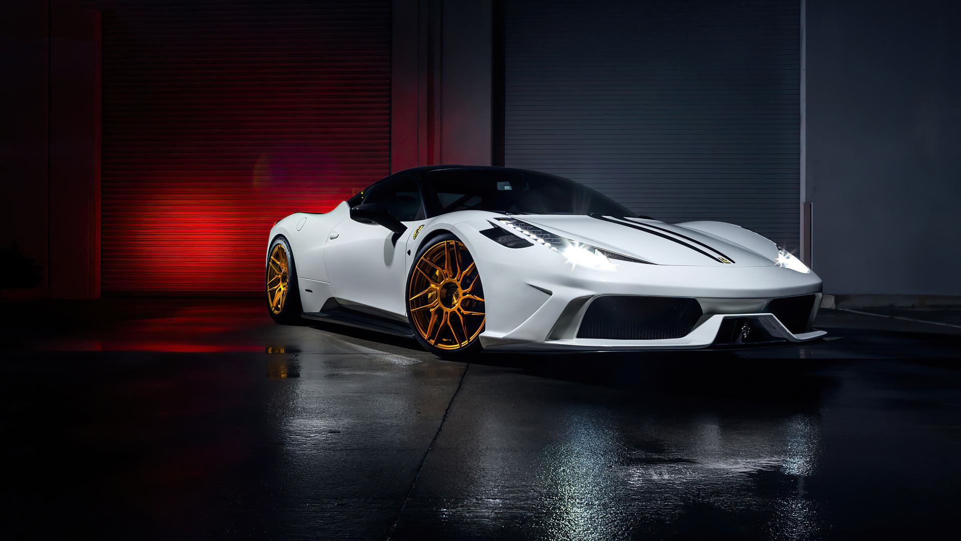 Ferrari 4K Desktop Wallpaper