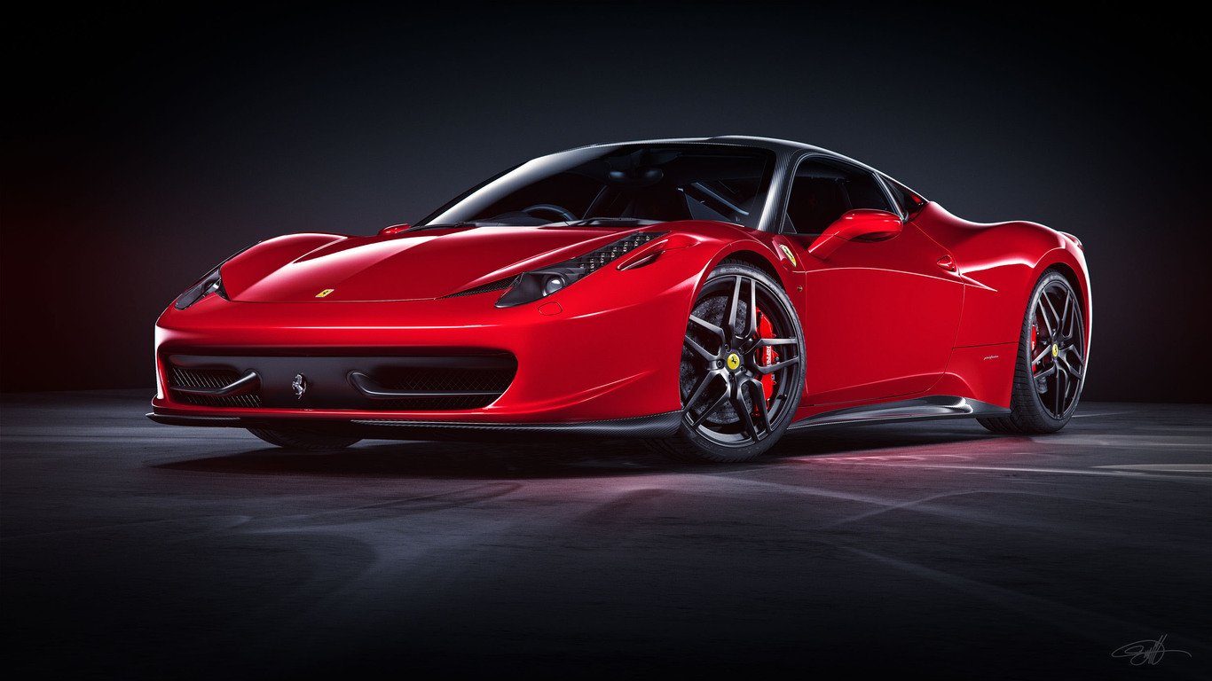 1366x768 Ferrari 458 Italia Red 2018 1366x768 Resolution Hd 4k Wallpapers Images Backgrounds Photos And Pictures