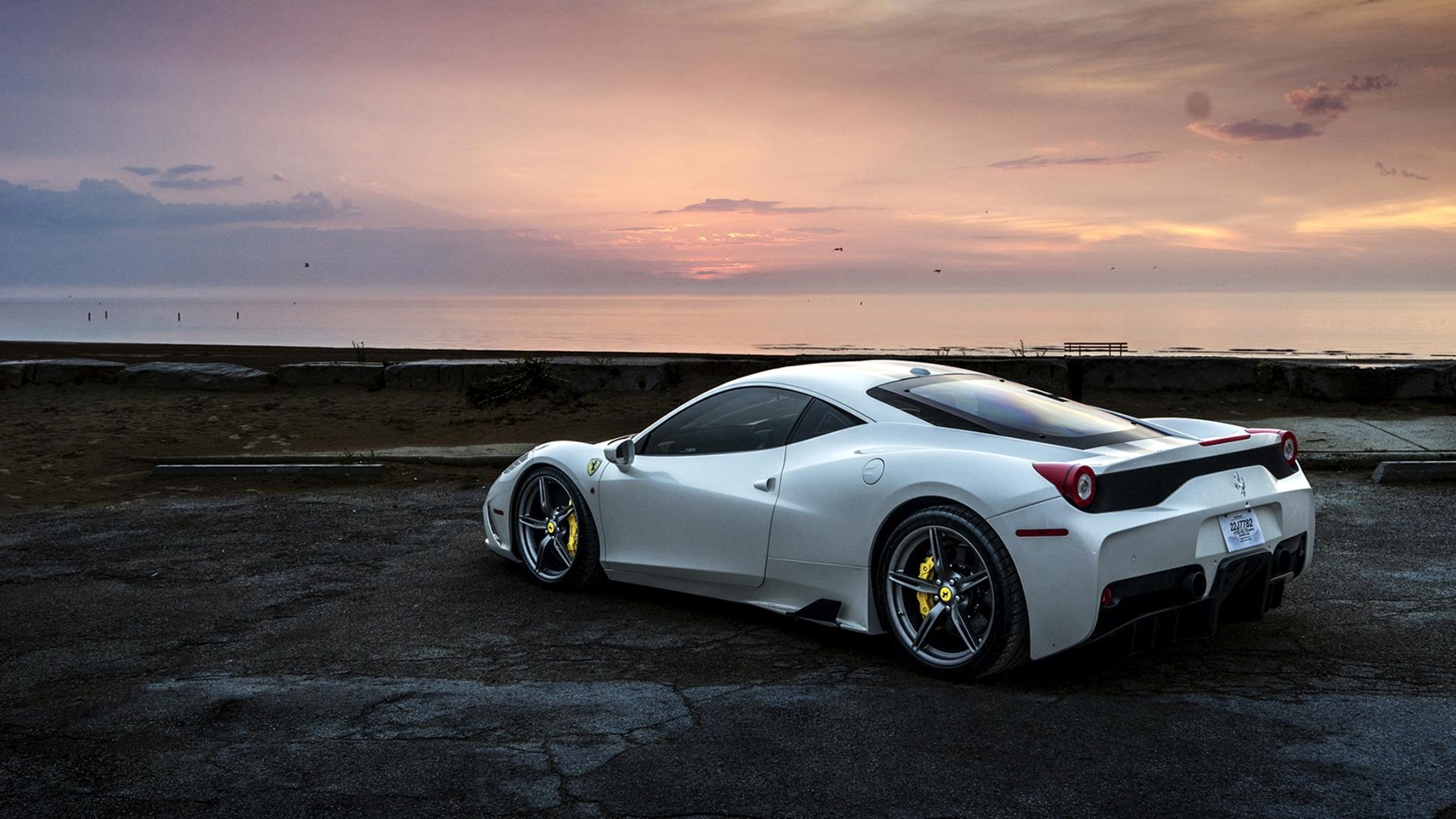 Ferrari Hd 1920x1080 Wallpapers: 1920x1080 Ferrari 458 White Laptop Full HD 1080P HD 4k