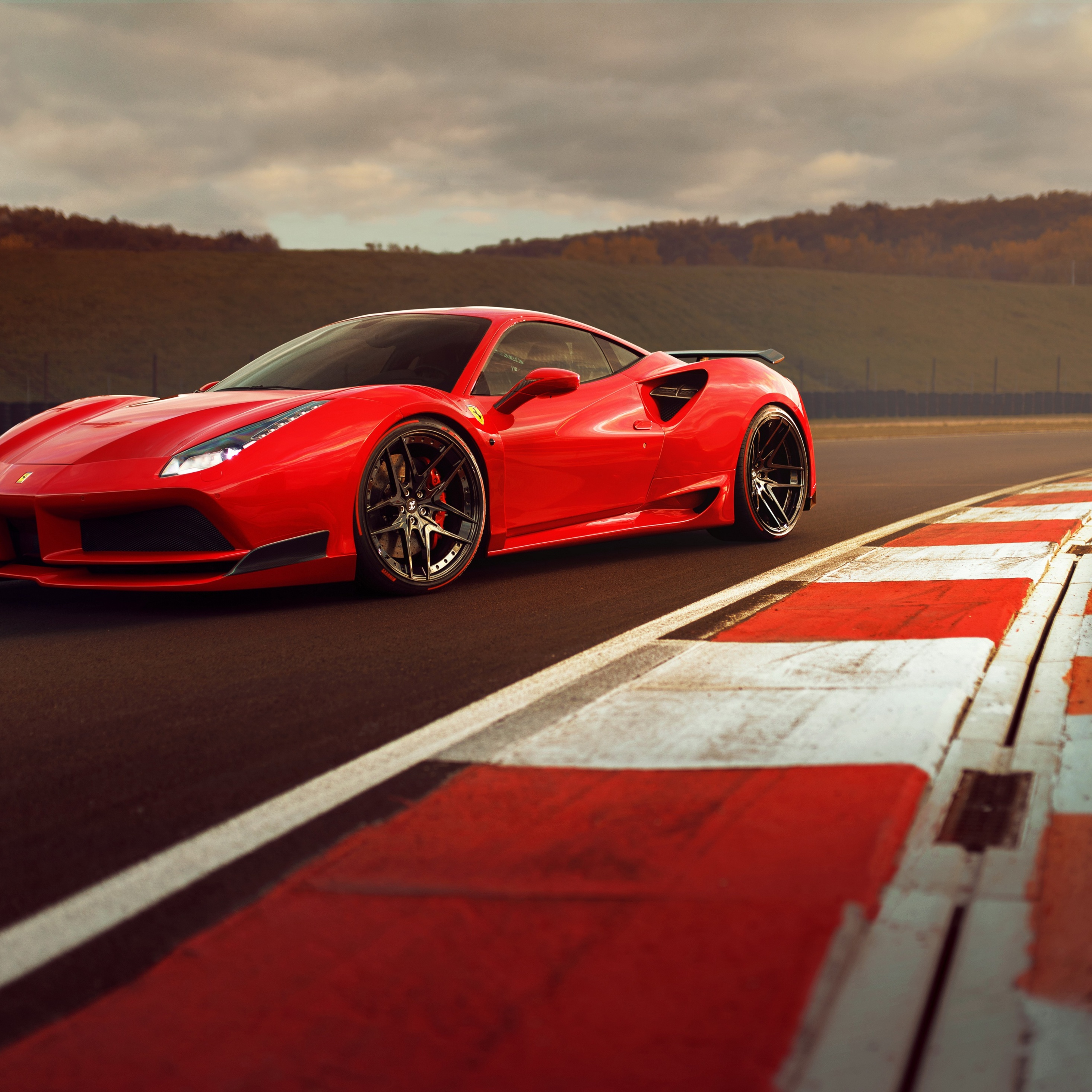 2932x2932 Ferrari 488 Gtb 4k Ipad Pro Retina Display HD 4k