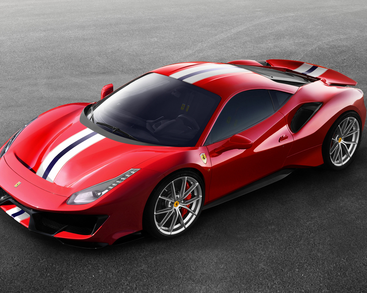 1280x1024 ferrari 488 pista 2018 side view 1280x1024. Black Bedroom Furniture Sets. Home Design Ideas