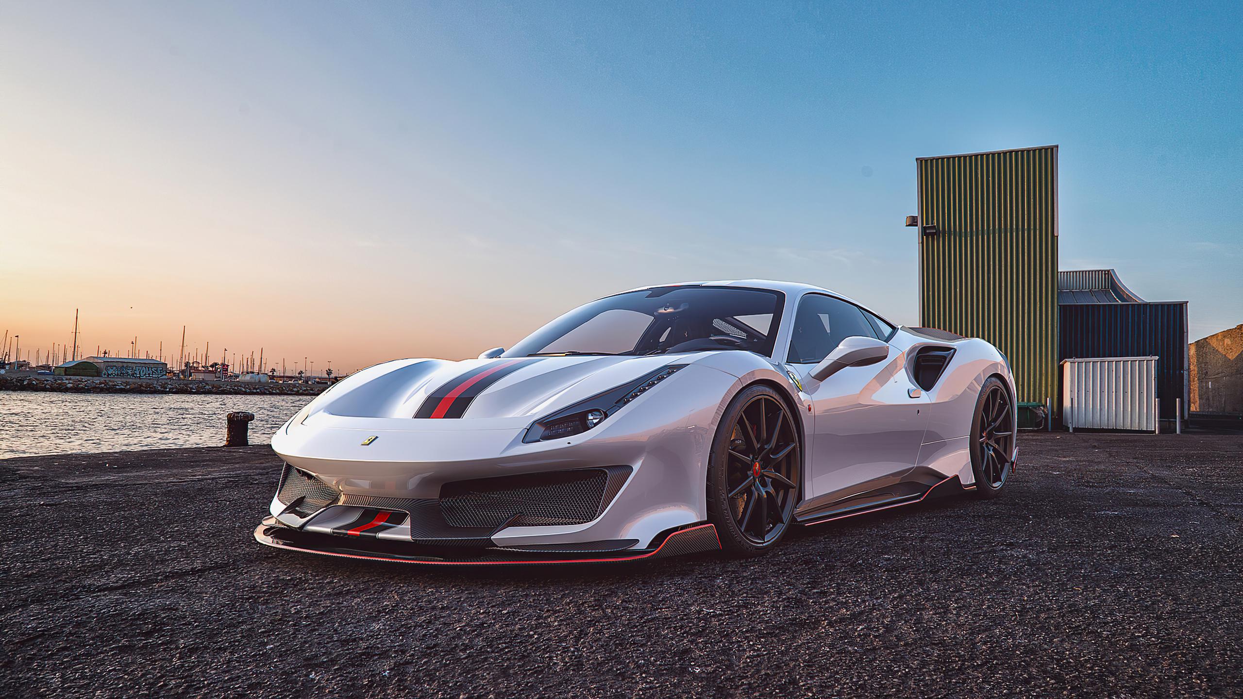 2560x1440 Ferrari 488 Pista Outdoor 1440P Resolution HD 4k ...