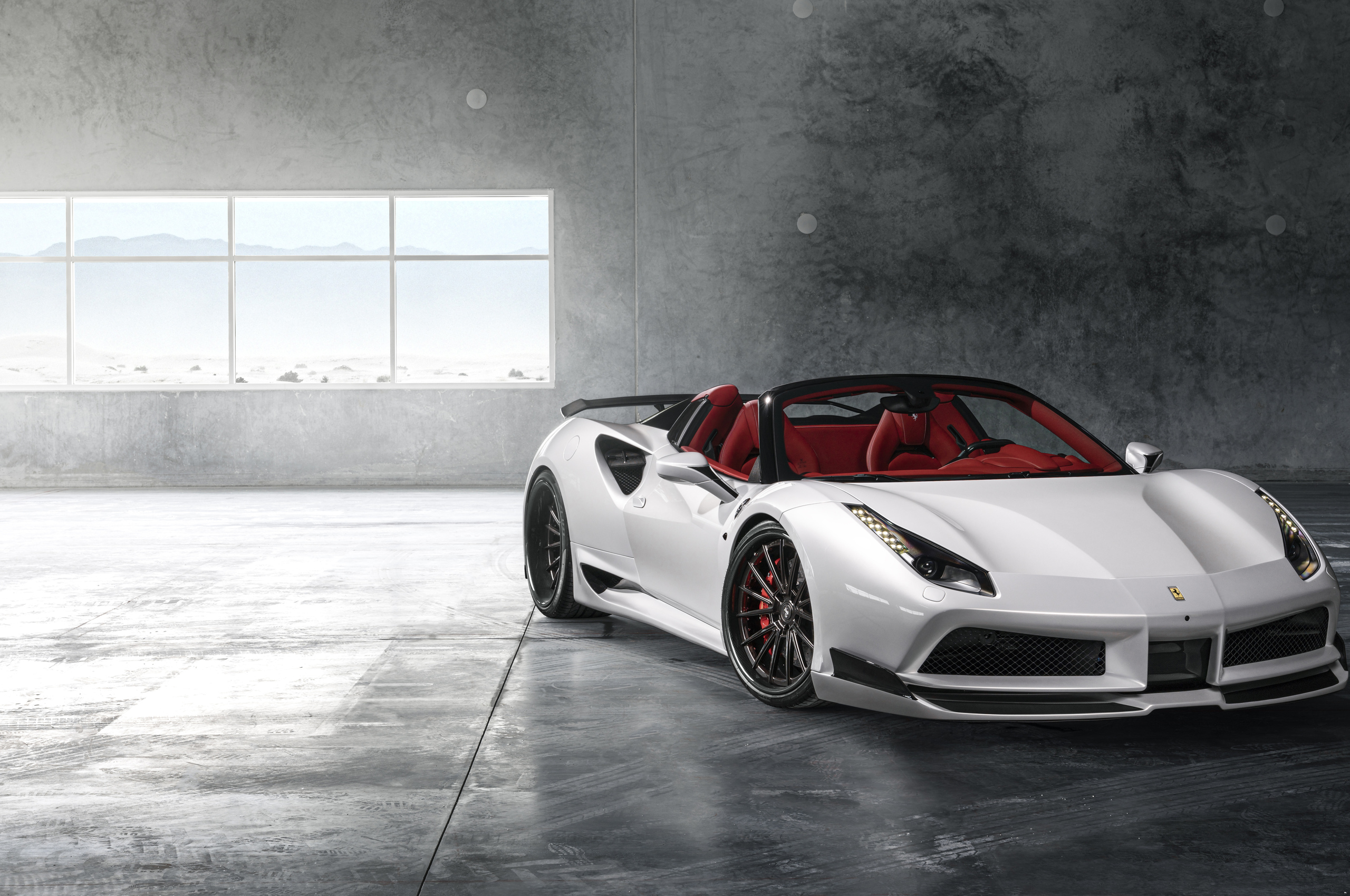 2560x1700 Ferrari 488 White 8k Chromebook Pixel HD 4k