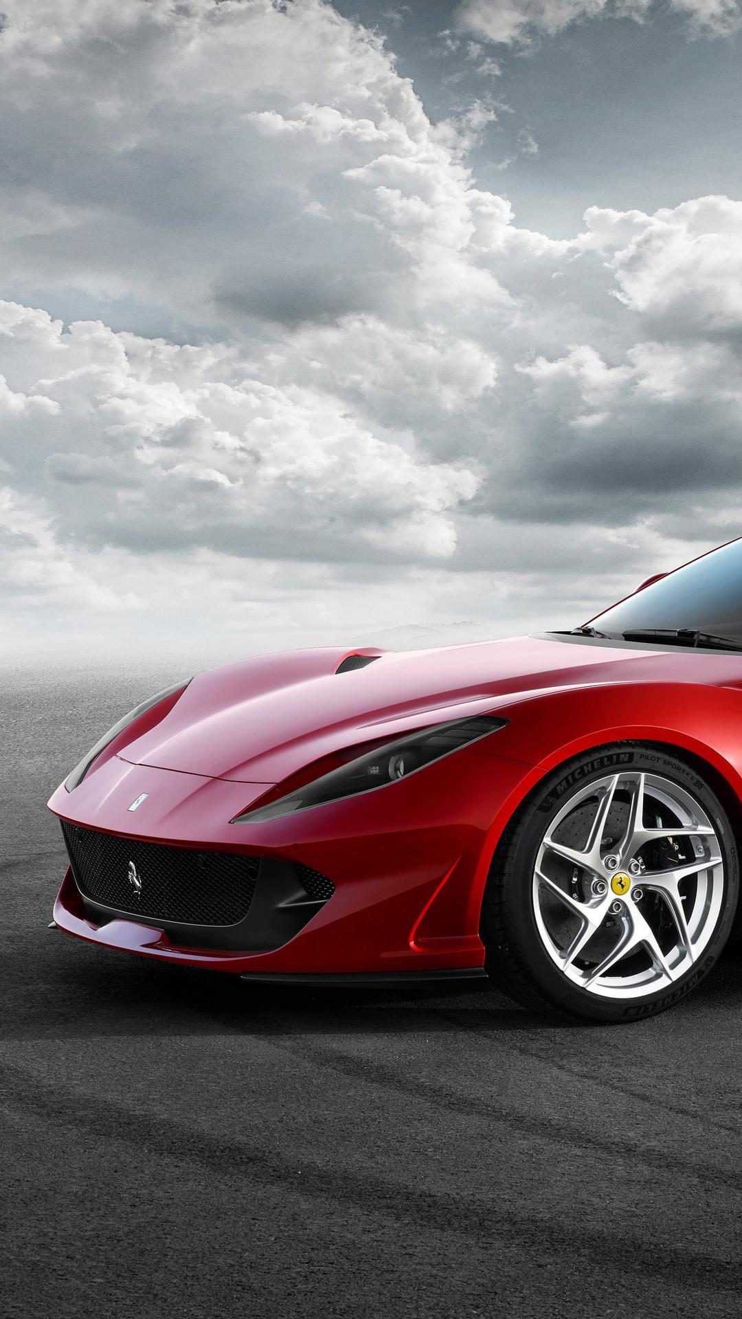 Ferrari Wallpaper 4K Iphone