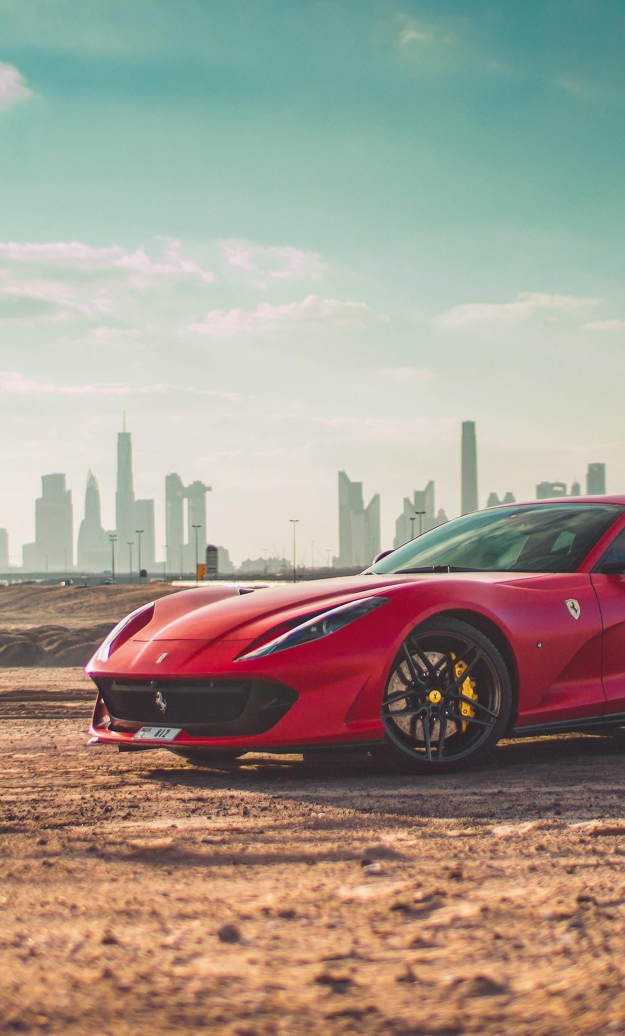 1280x2120 Ferrari 812 Superfast 4k Iphone 6 Hd 4k Wallpapers
