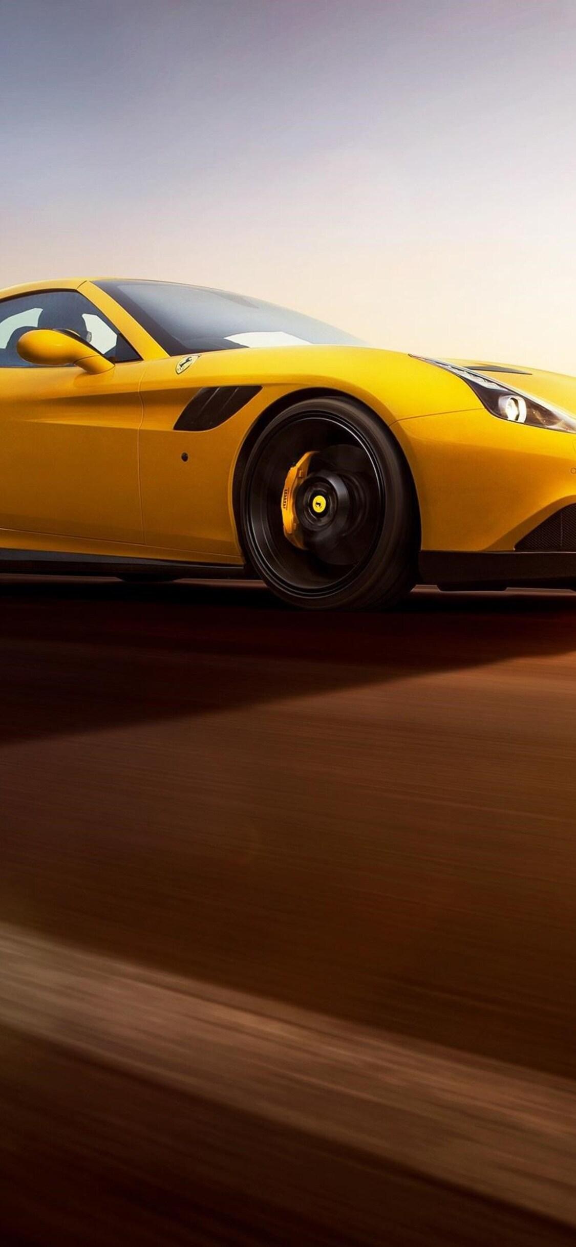1125x2436 Ferrari California Iphone Xs Iphone 10 Iphone X Hd 4k