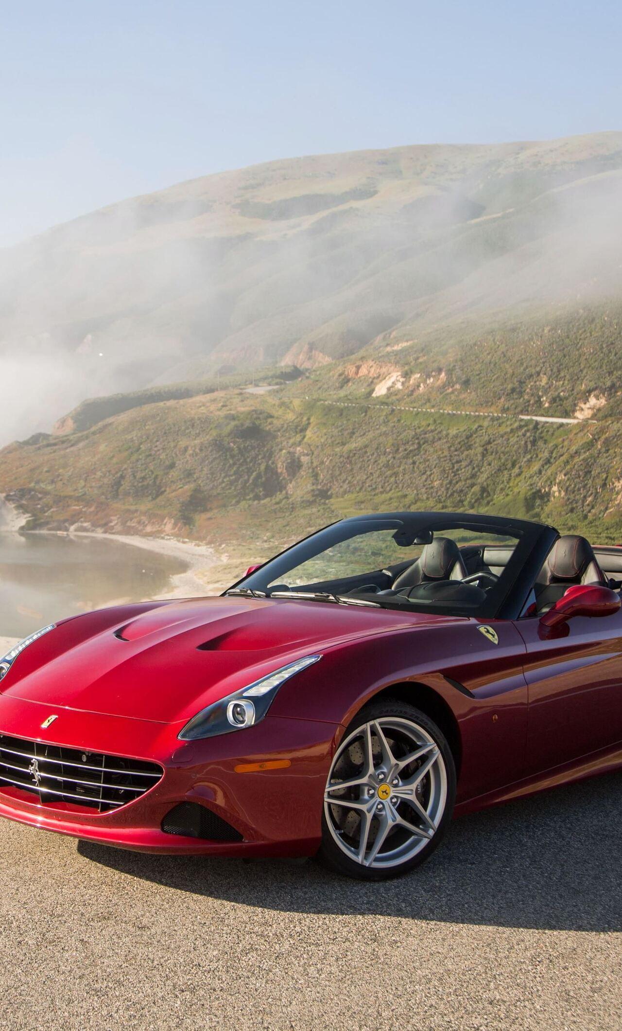 1280x2120 Ferrari California 4k Iphone 6 Hd 4k Wallpapers Images