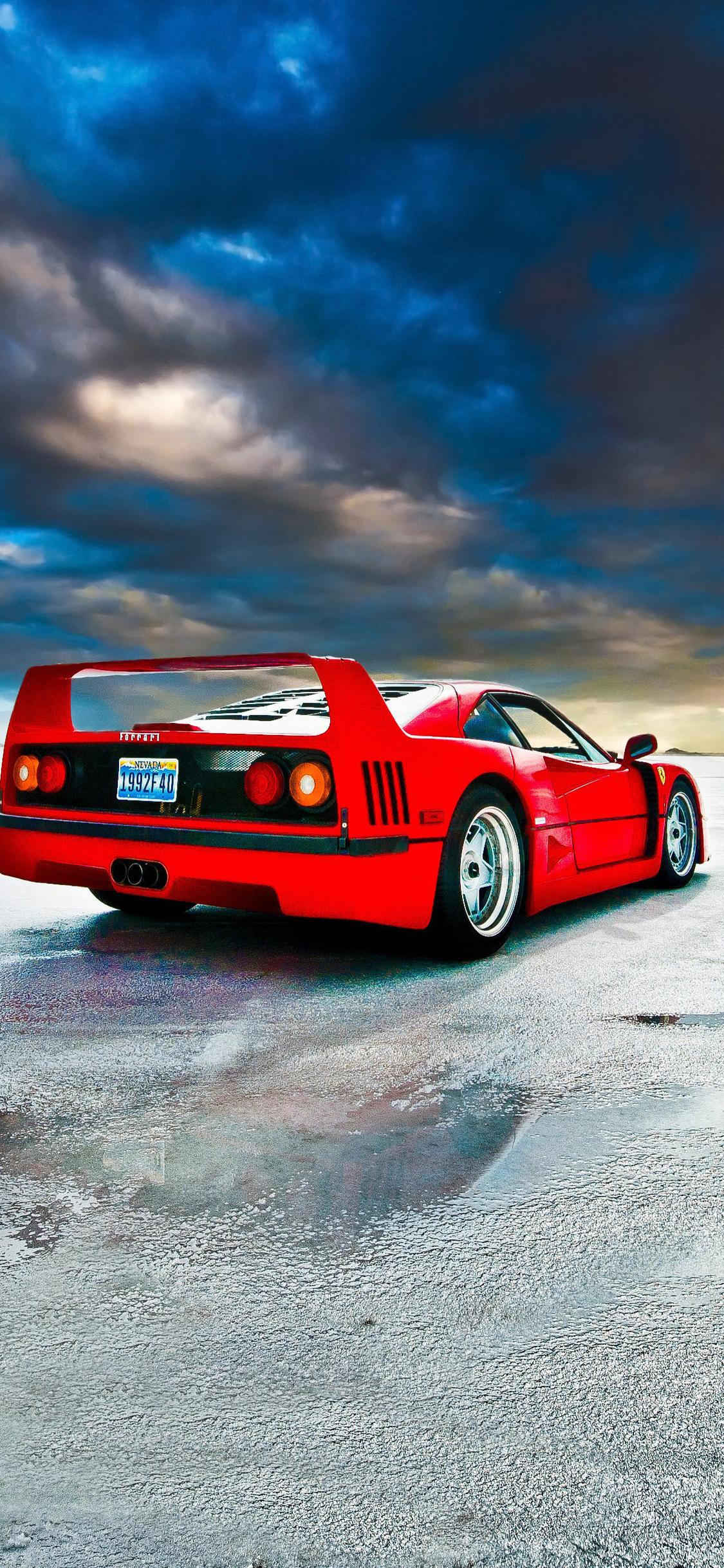Ferrari F40 Iphone X Wallpaper Djiwallpaperco