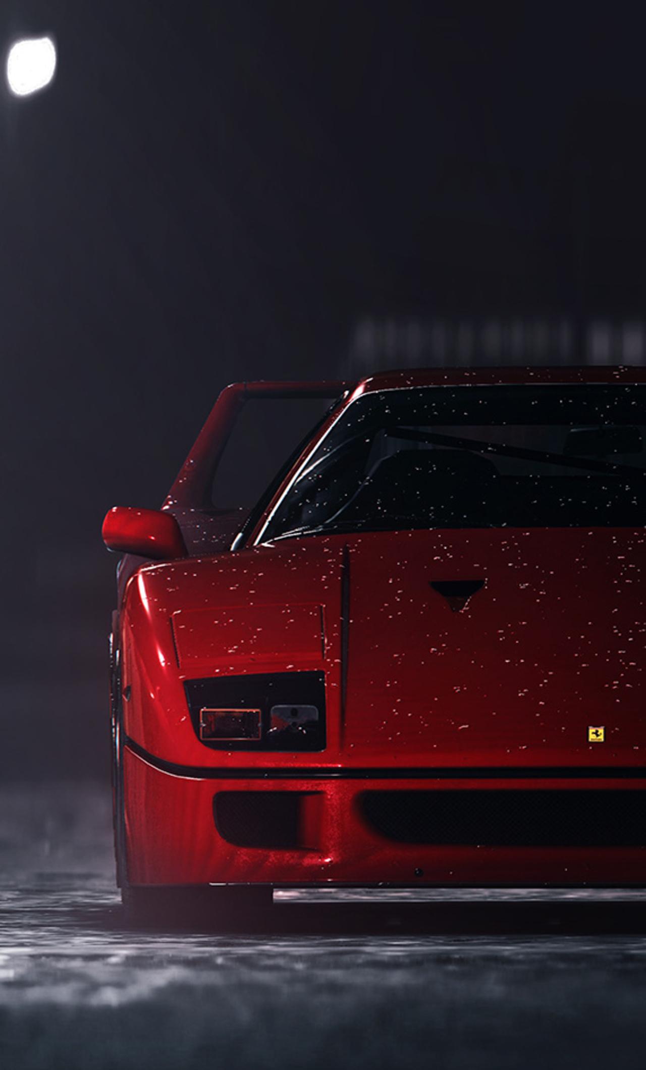 1280x2120 Ferrari F40 In Need For Speed iPhone 6+ HD 4k