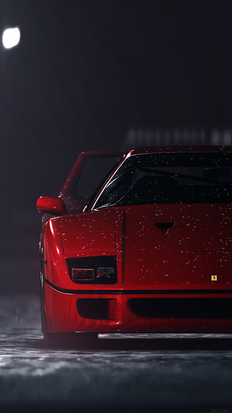 750x1334 Ferrari F40 In Need For Speed Iphone 6 Iphone 6s Iphone 7