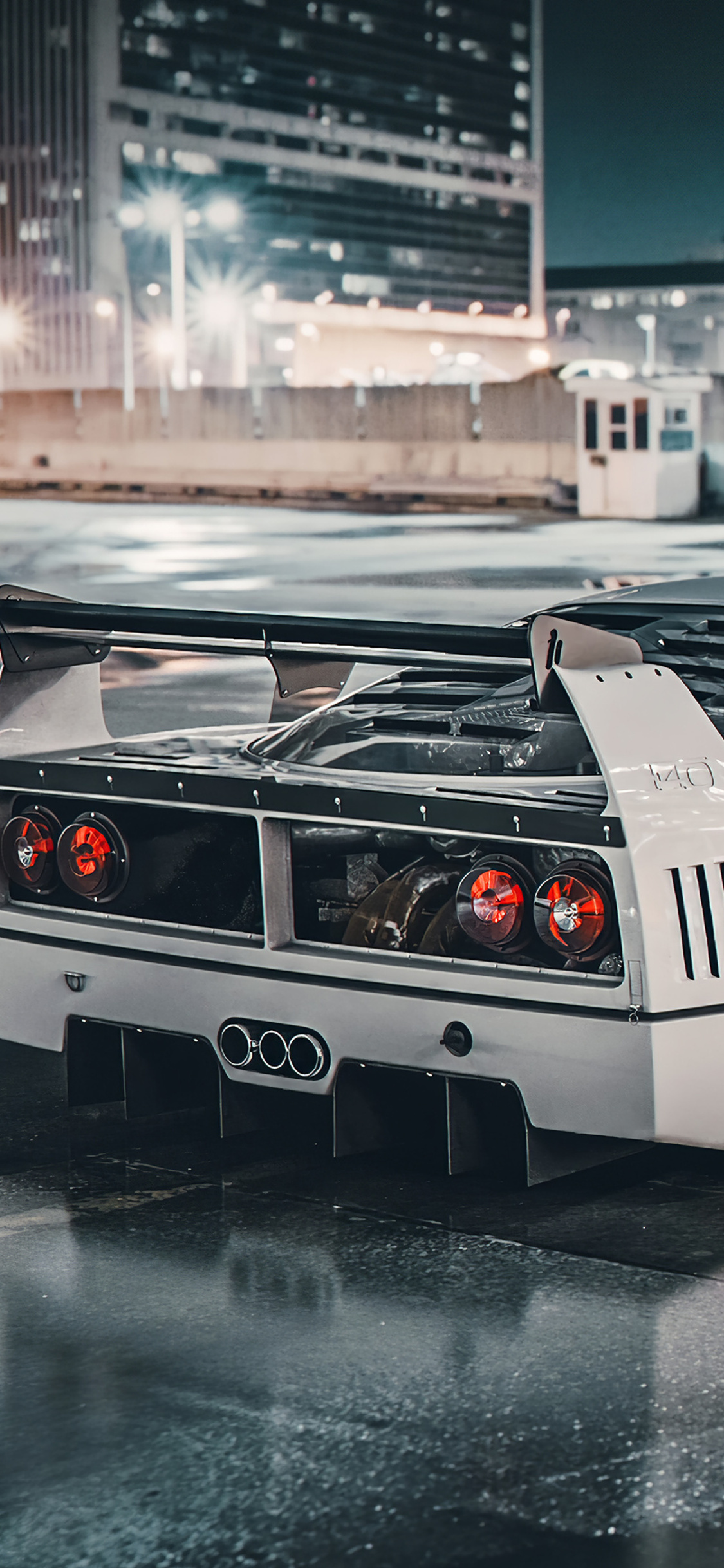 1125x2436 Ferrari F40 Lm 4k Iphone Xs Iphone 10 Iphone X Hd 4k Wallpapers Images Backgrounds Photos And Pictures