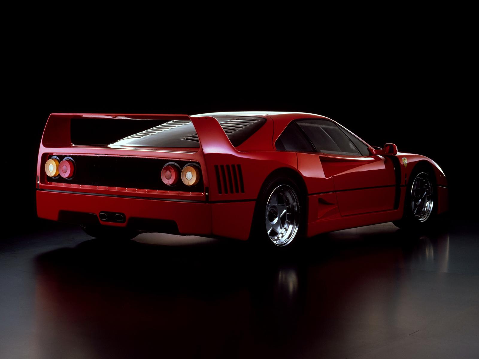 View Ferrari F40 Wallpaper 4K  Pictures