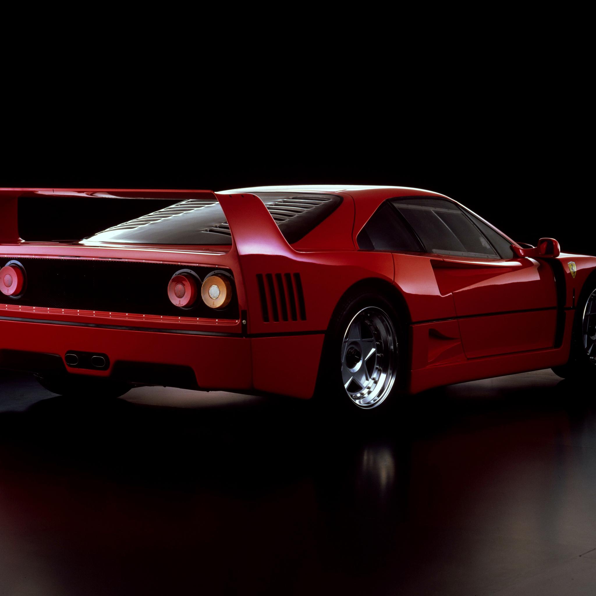 2048x2048 Ferrari F40 Prototipo Ipad Air HD 4k Wallpapers ...