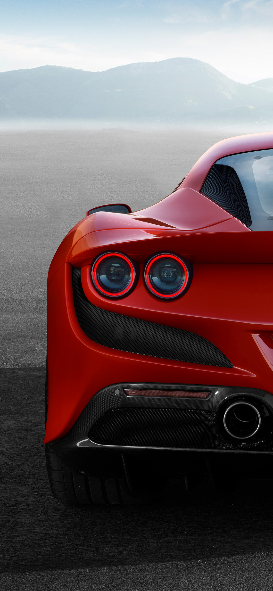 1125x2436 Ferrari F8 Tributo 2019 Rear Iphone XS,Iphone 10