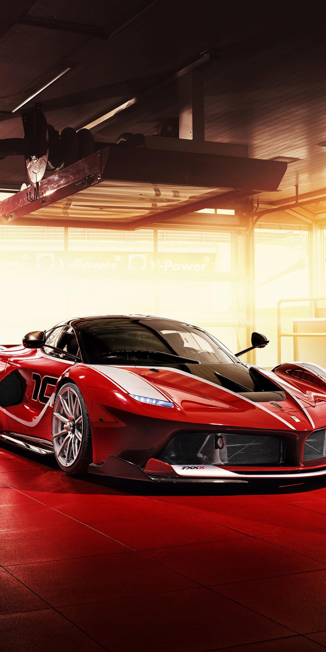 1080x2160 Ferrari Fxx K Sport Car One Plus 5t Honor 7x Honor View 10