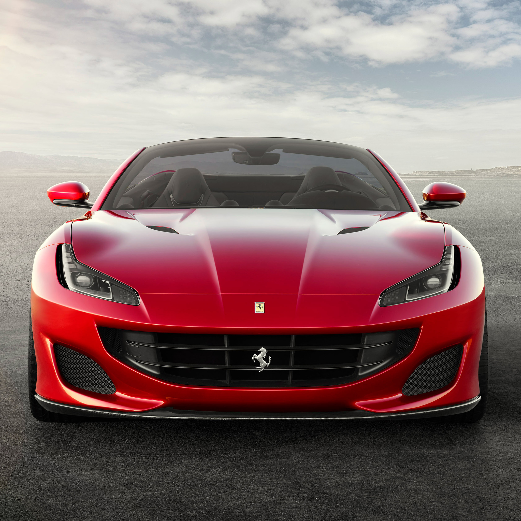 Ferrari Portofino: 2048x2048 Ferrari Portofino 2017 Ipad Air HD 4k Wallpapers