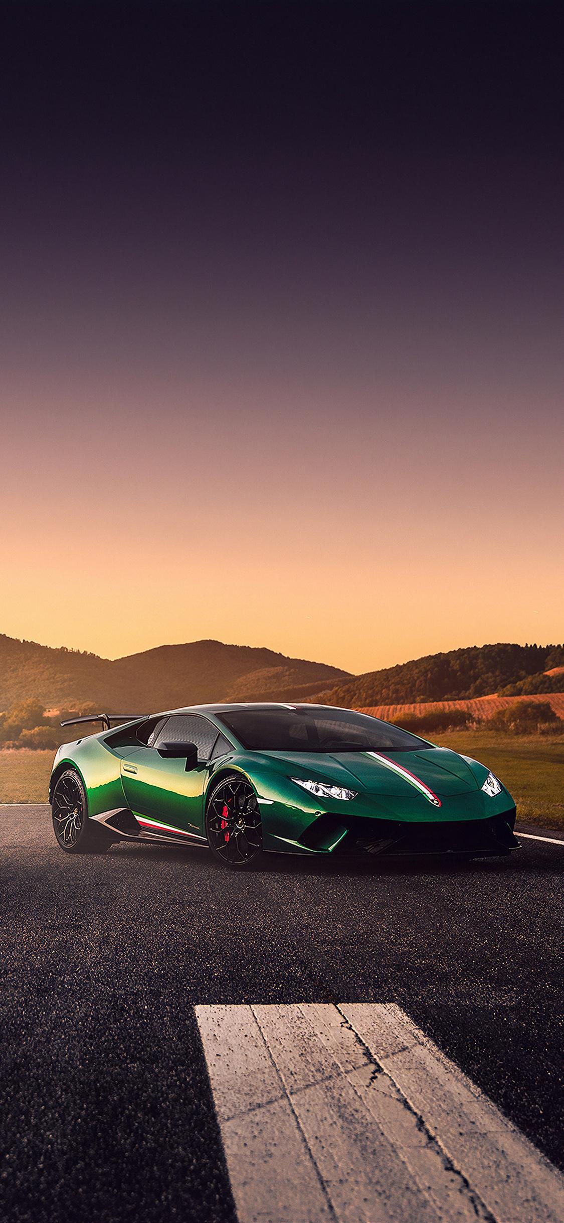 1125x2436 Ferrrari And Lamborghini Huracan 4k Iphone XS ...