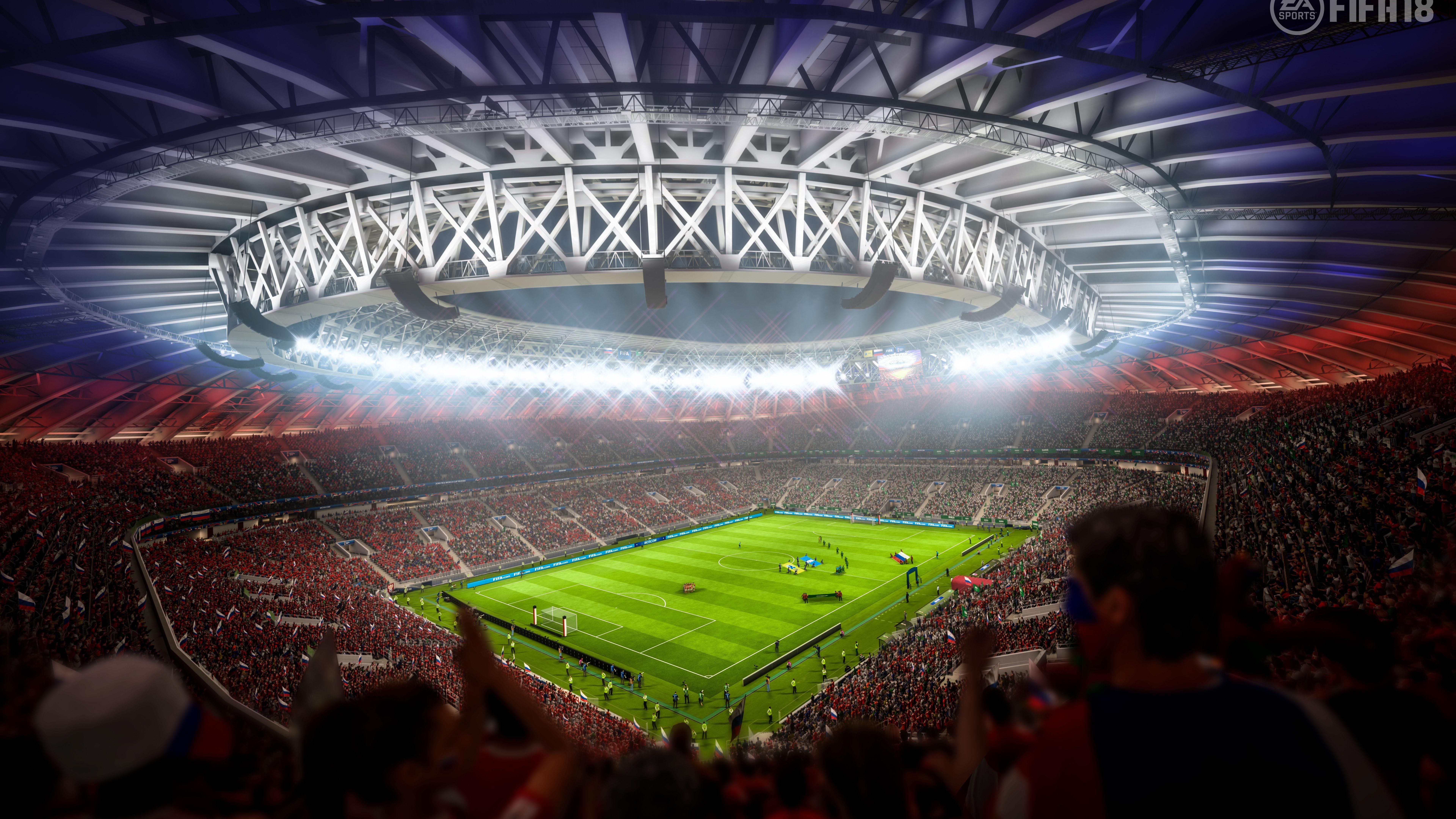 7680x4320 Fifa 18 Stadium 8k 8k HD 4k Wallpapers, Images