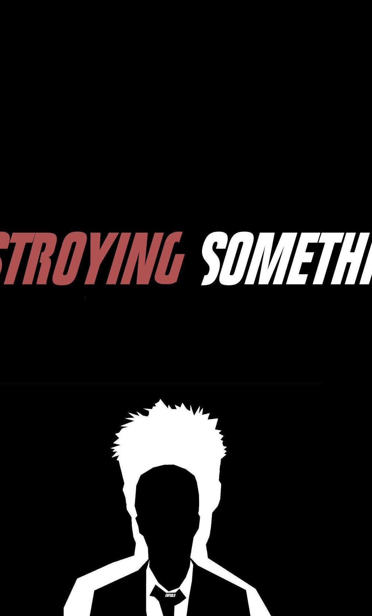 1280x2120 Fight Club Typography Iphone 6 Hd 4k Wallpapers