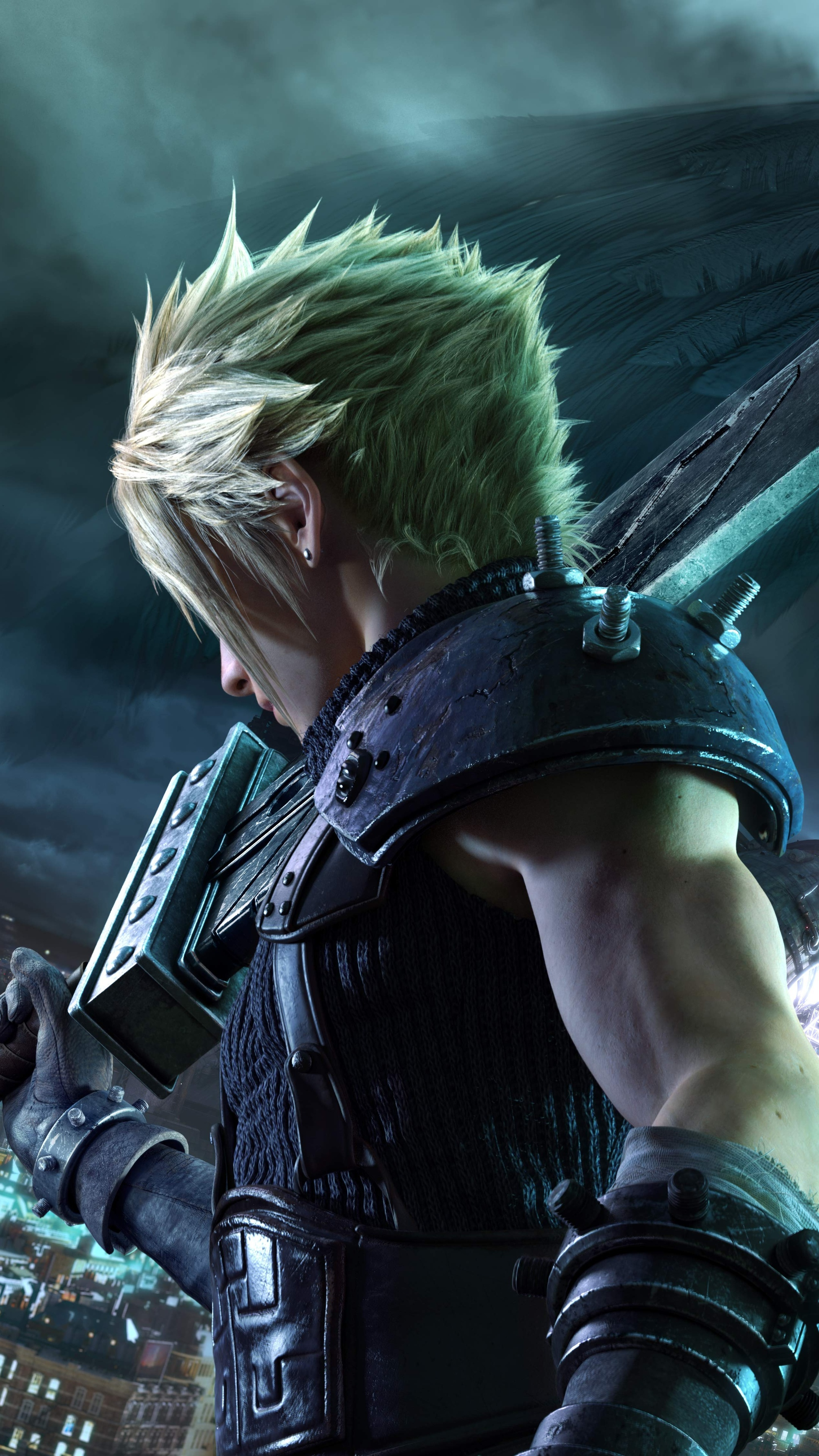 2160x3840 Final Fantasy VII Remake 8k 2020 Sony Xperia X ...