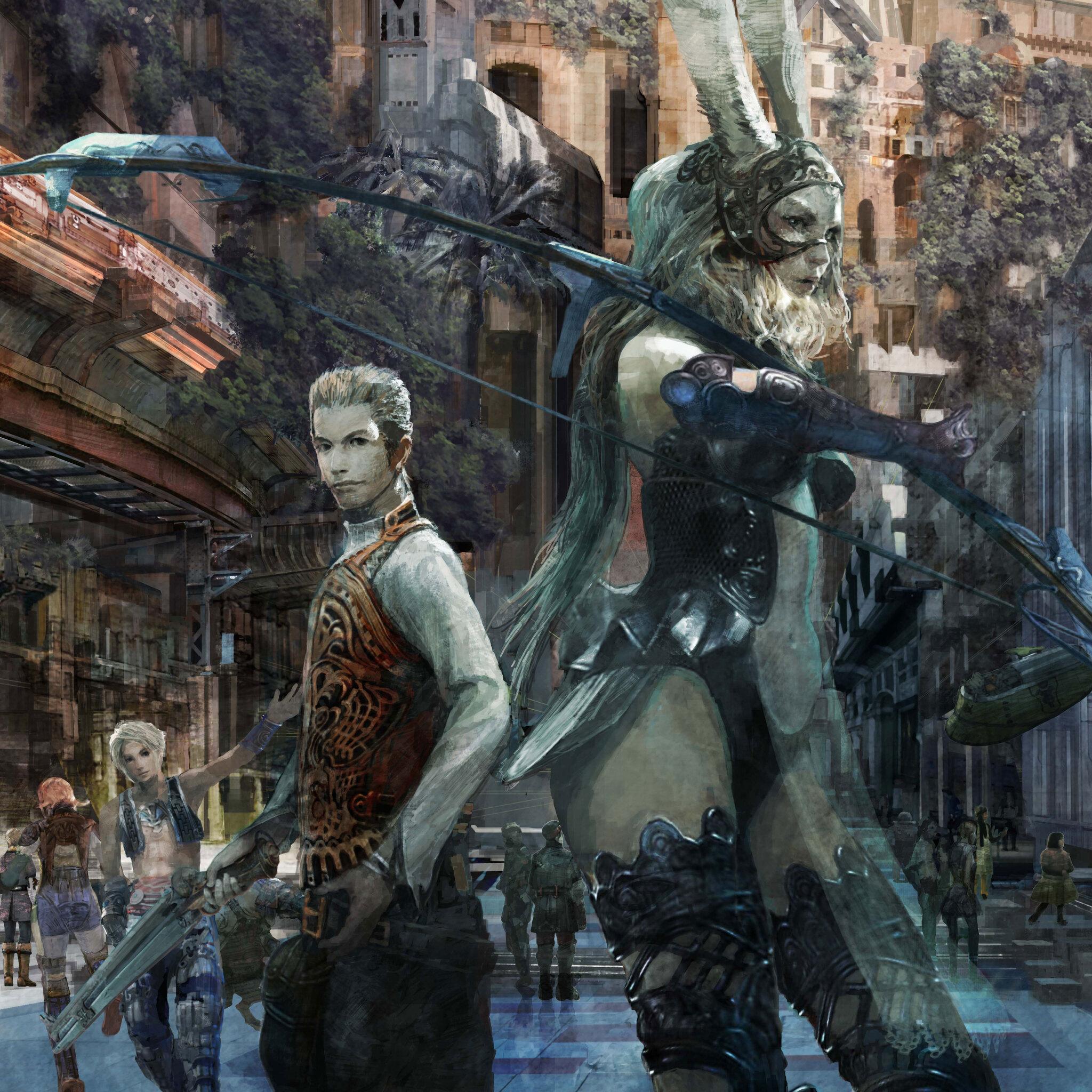 Hd Final Fantasy Wallpaper: 2048x2048 Final Fantasy XII The Zodiac Age Ipad Air HD 4k