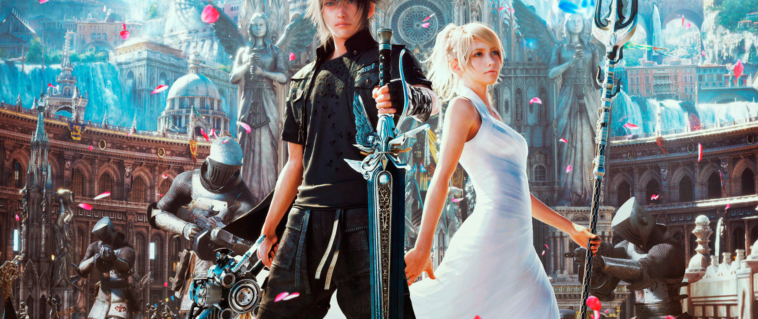 Final Fantasy Xv 4k Wallpapers: 2560x1080 Final Fantasy Xv Artwork 2560x1080 Resolution HD