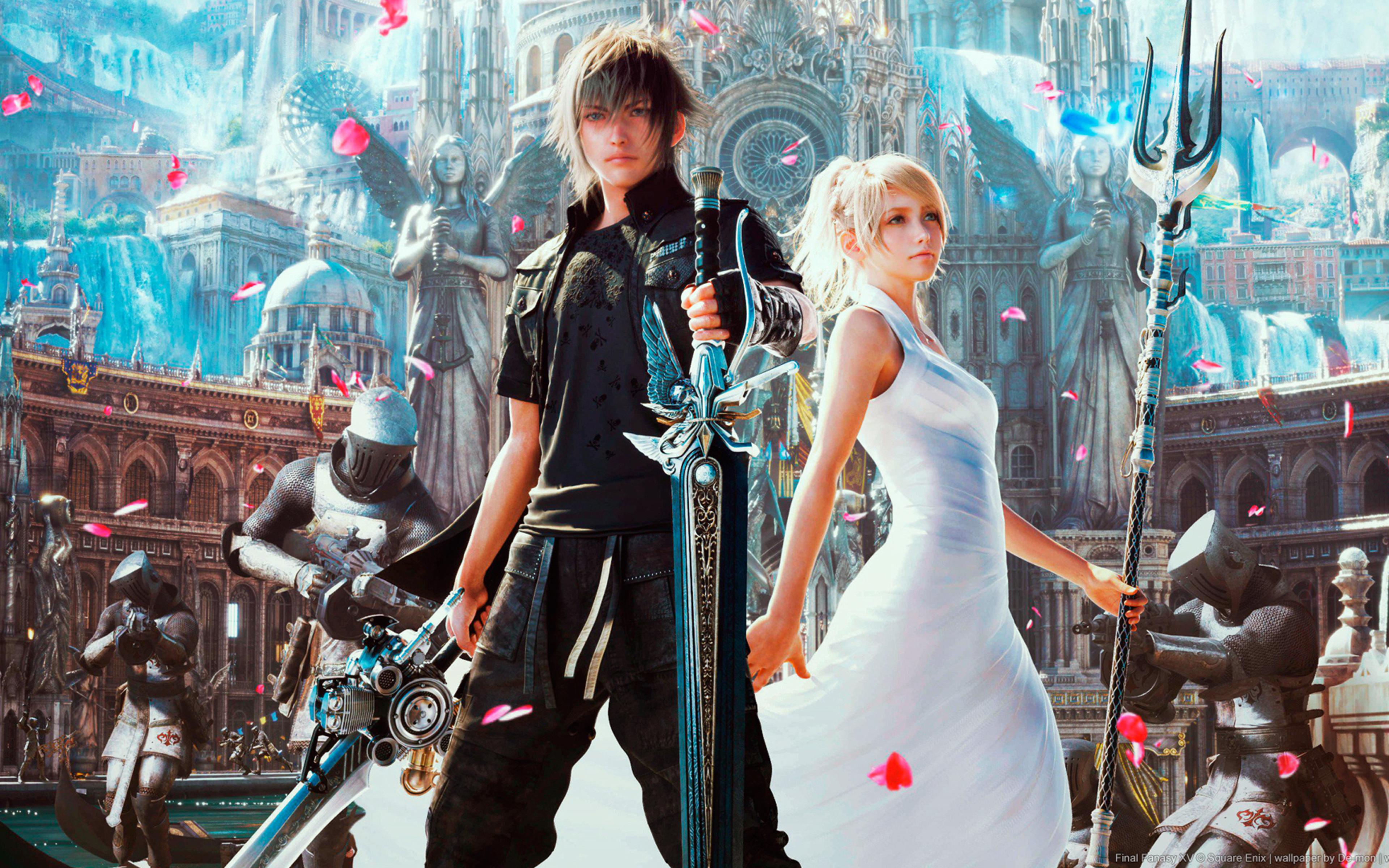 2560x1080 Final Fantasy Xv Ps4 2560x1080 Resolution Hd 4k: 3840x2400 Final Fantasy Xv Artwork 4k HD 4k Wallpapers