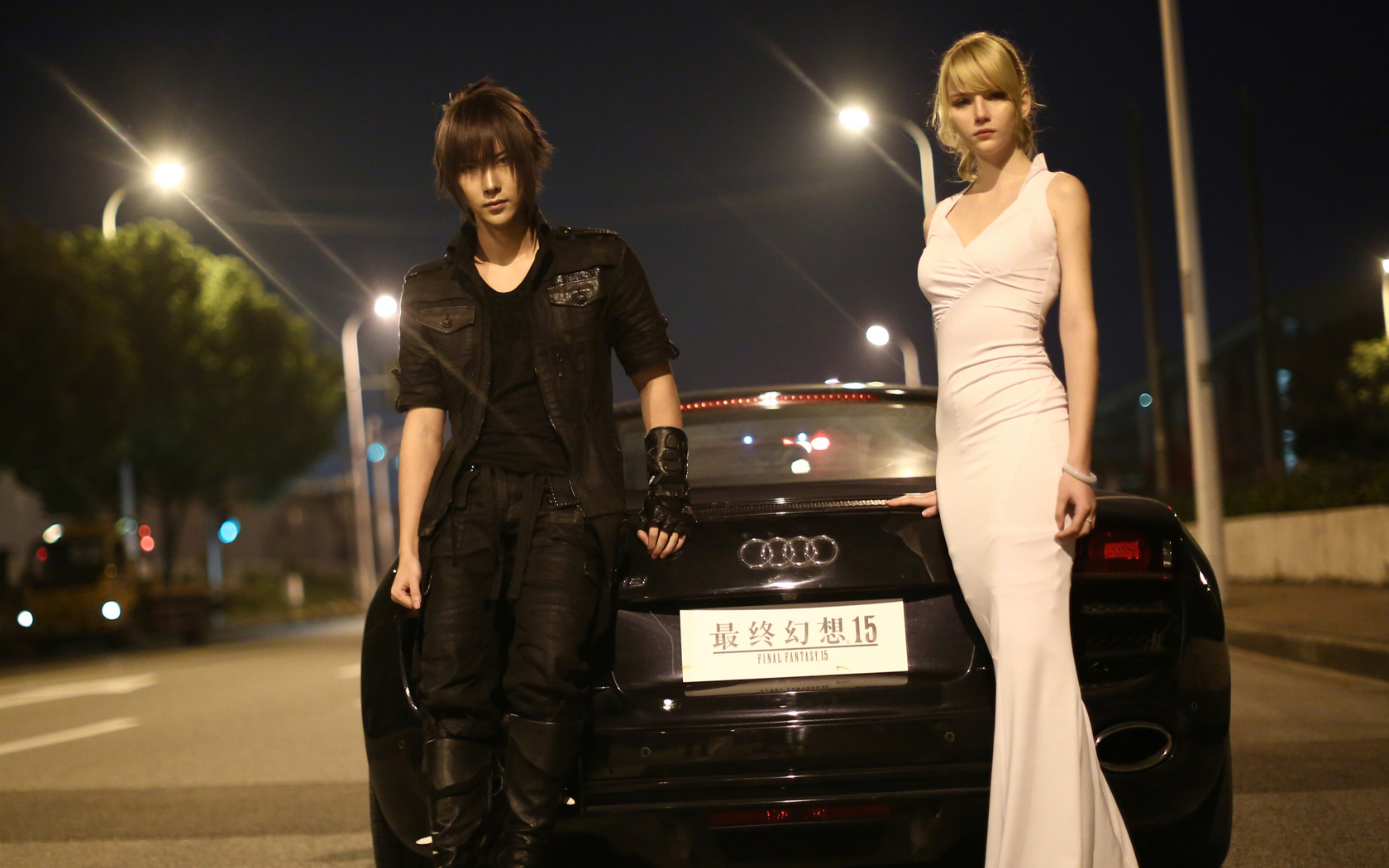 Final Fantasy Xv 4k Wallpapers: 1680x1050 Final Fantasy XV Noctis And Luna Cosplay