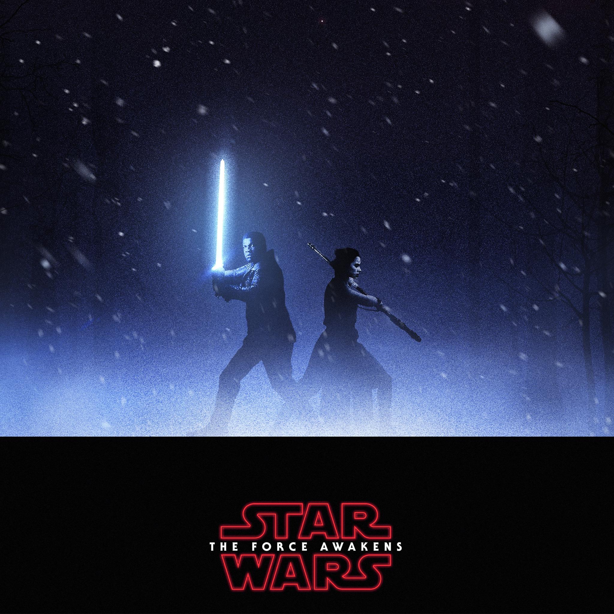2048x2048 Finn Rey Star Wars Ipad Air HD 4k Wallpapers
