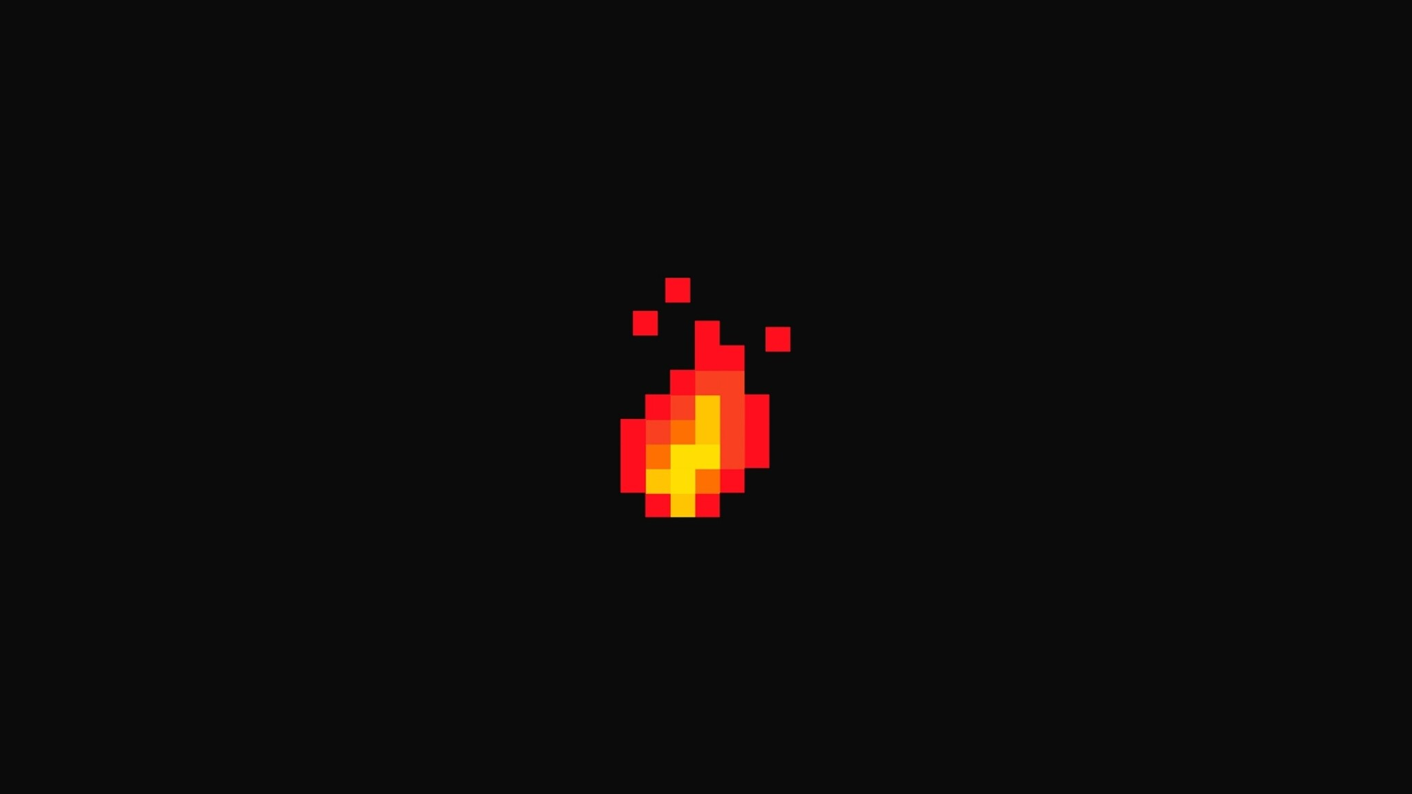 2048x1152 Fire Pixel Art 2048x1152 Resolution Hd 4k