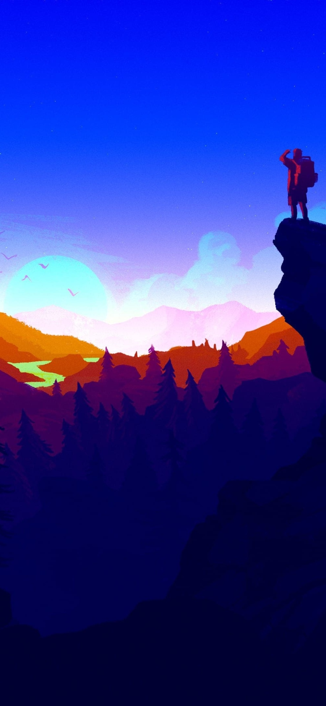 1125x2436 firewatch 4k iphone xs iphone 10 iphone x hd 4k - 4k girl wallpaper for iphone ...