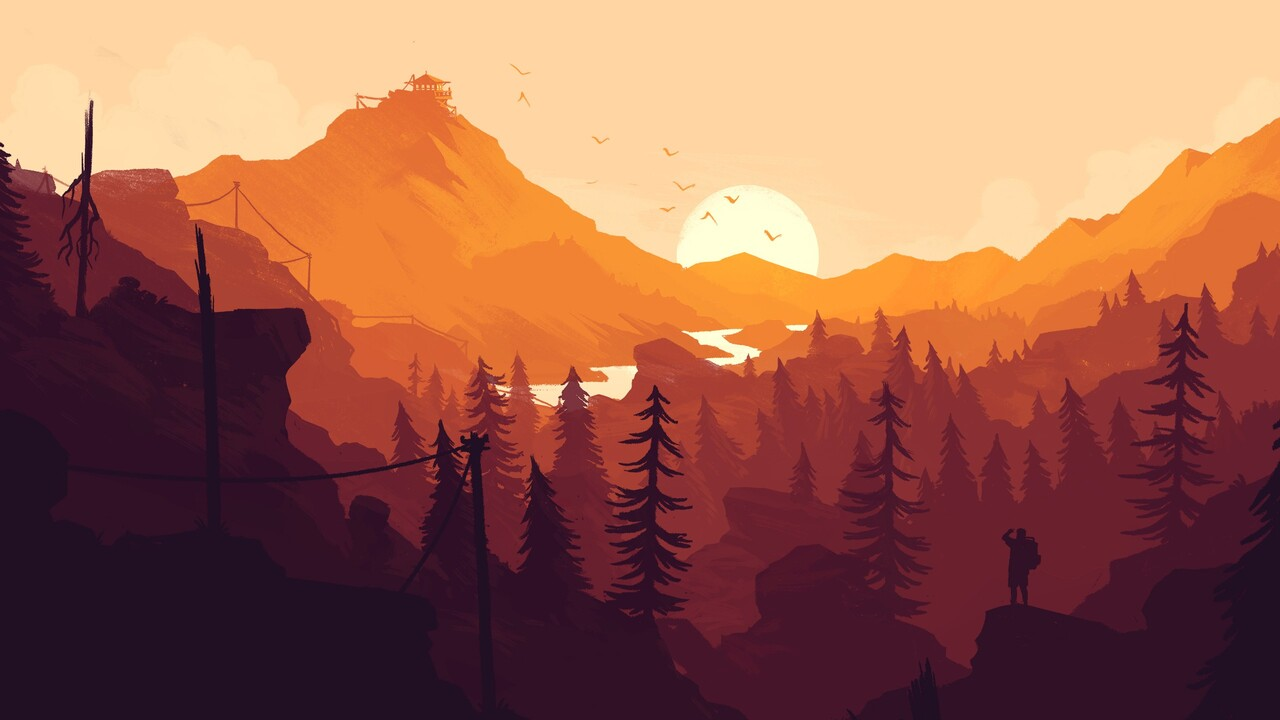1280x720 firewatch game 720p hd 4k wallpapers, images, backgrounds