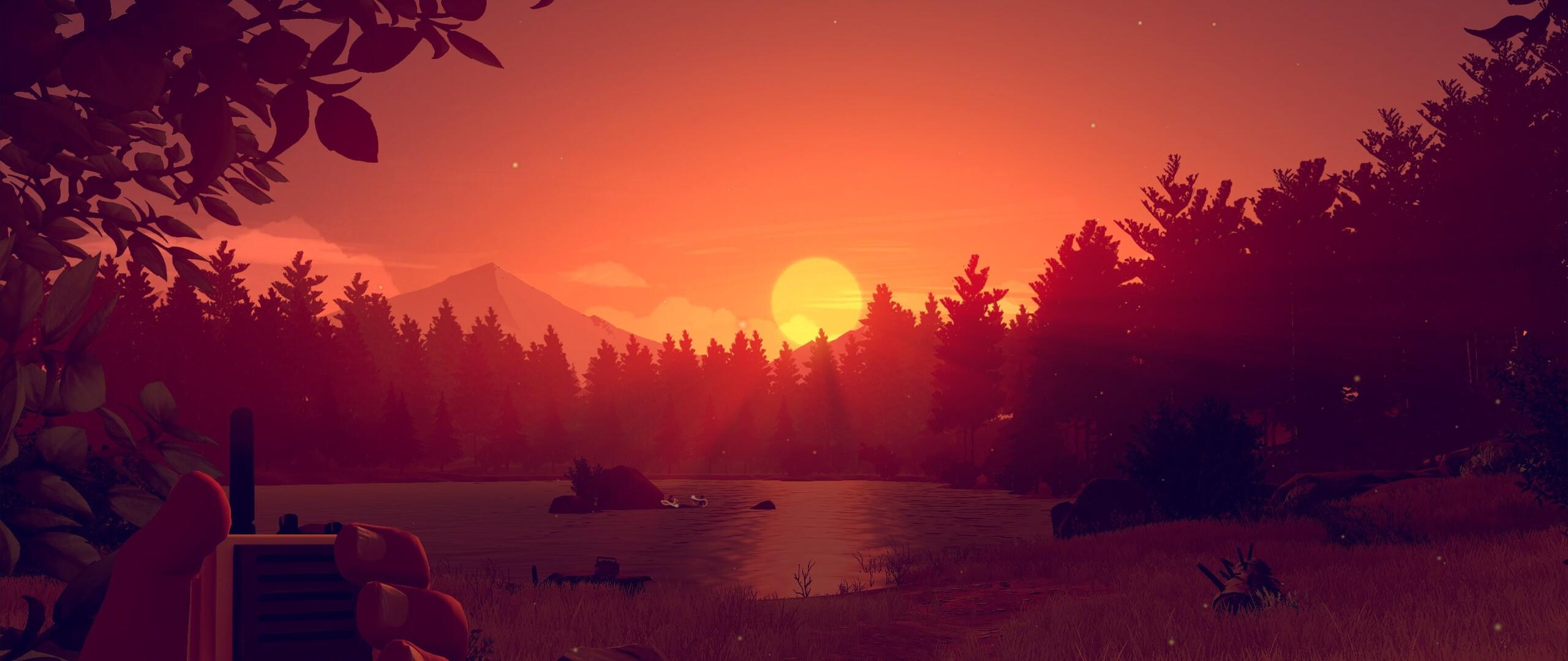 Firewatch Game Sunset Wallpaper