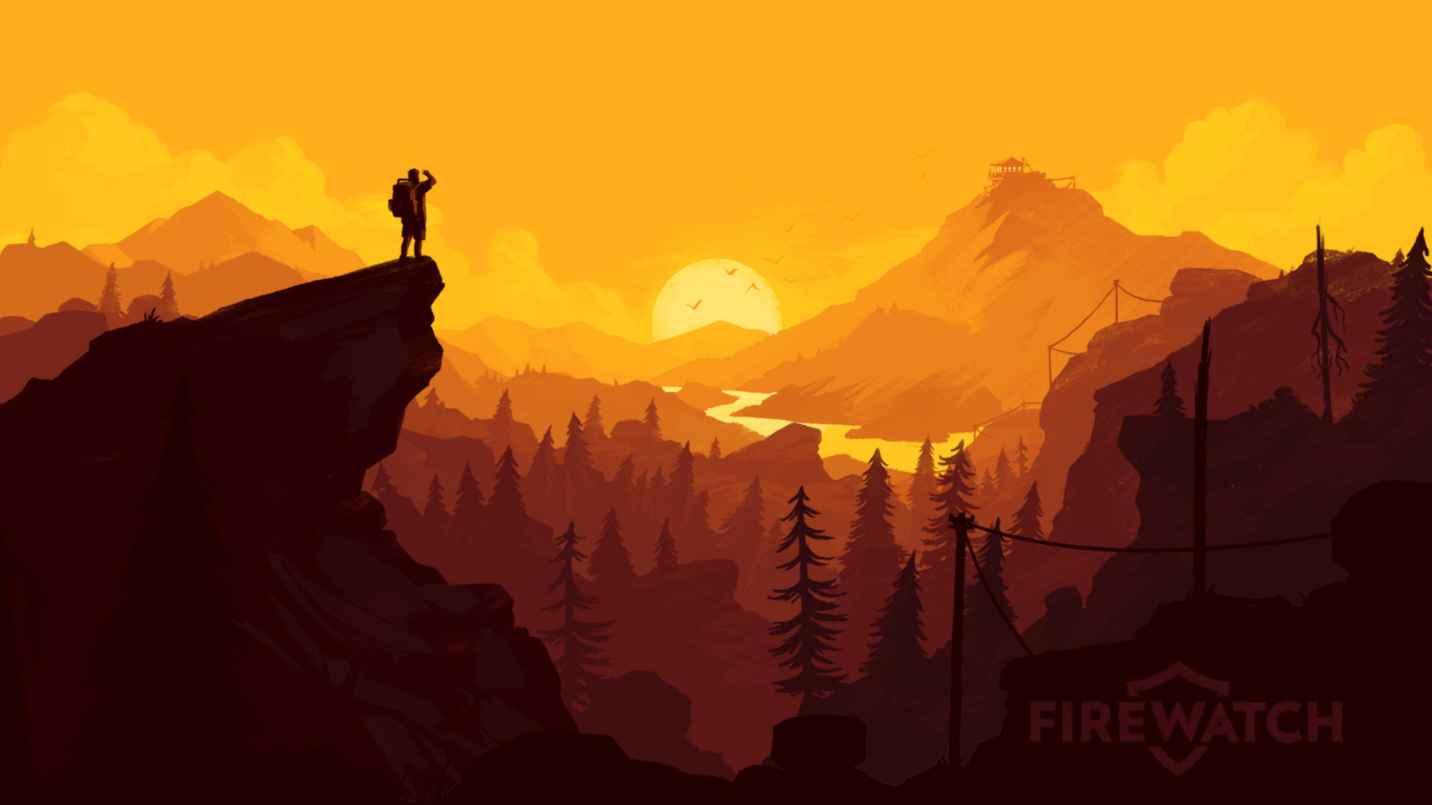 2048x1152 Firewatch PS Game 2048x1152 Resolution HD 4k