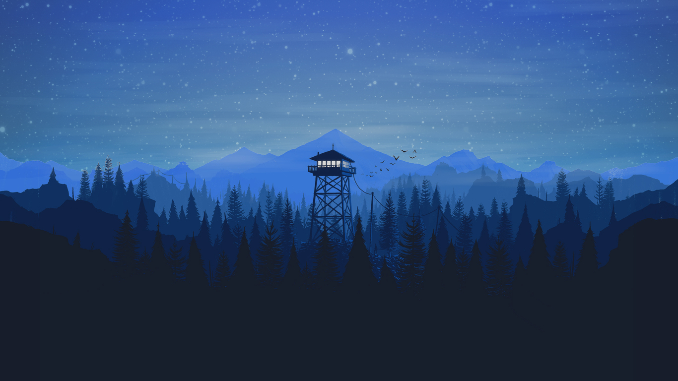 Firewatch 1366x768 Resolution HD 4k