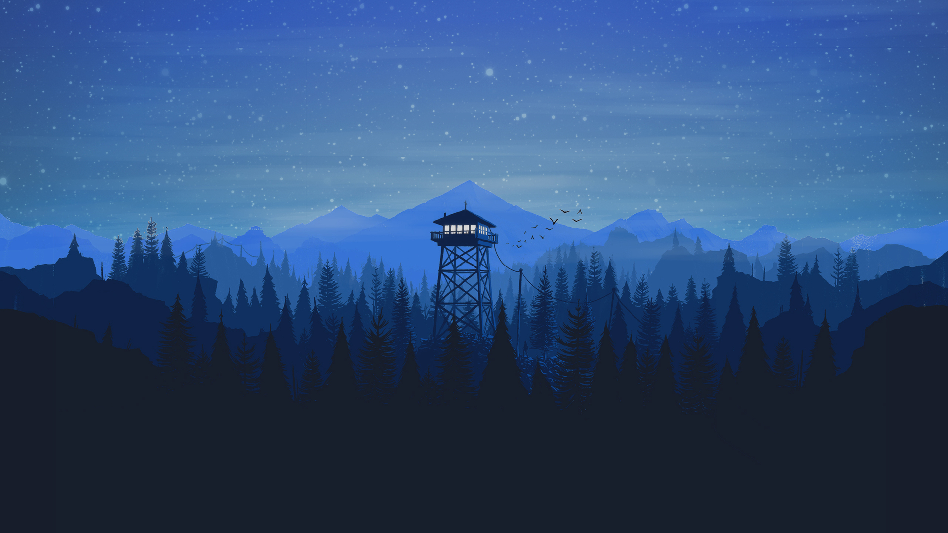 1920x1080 Firewatch Laptop Full Hd 1080p Hd 4k Wallpapers Images
