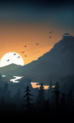 firewatch-sun-trees-mountains-birds-lake-evening-x8.jpg